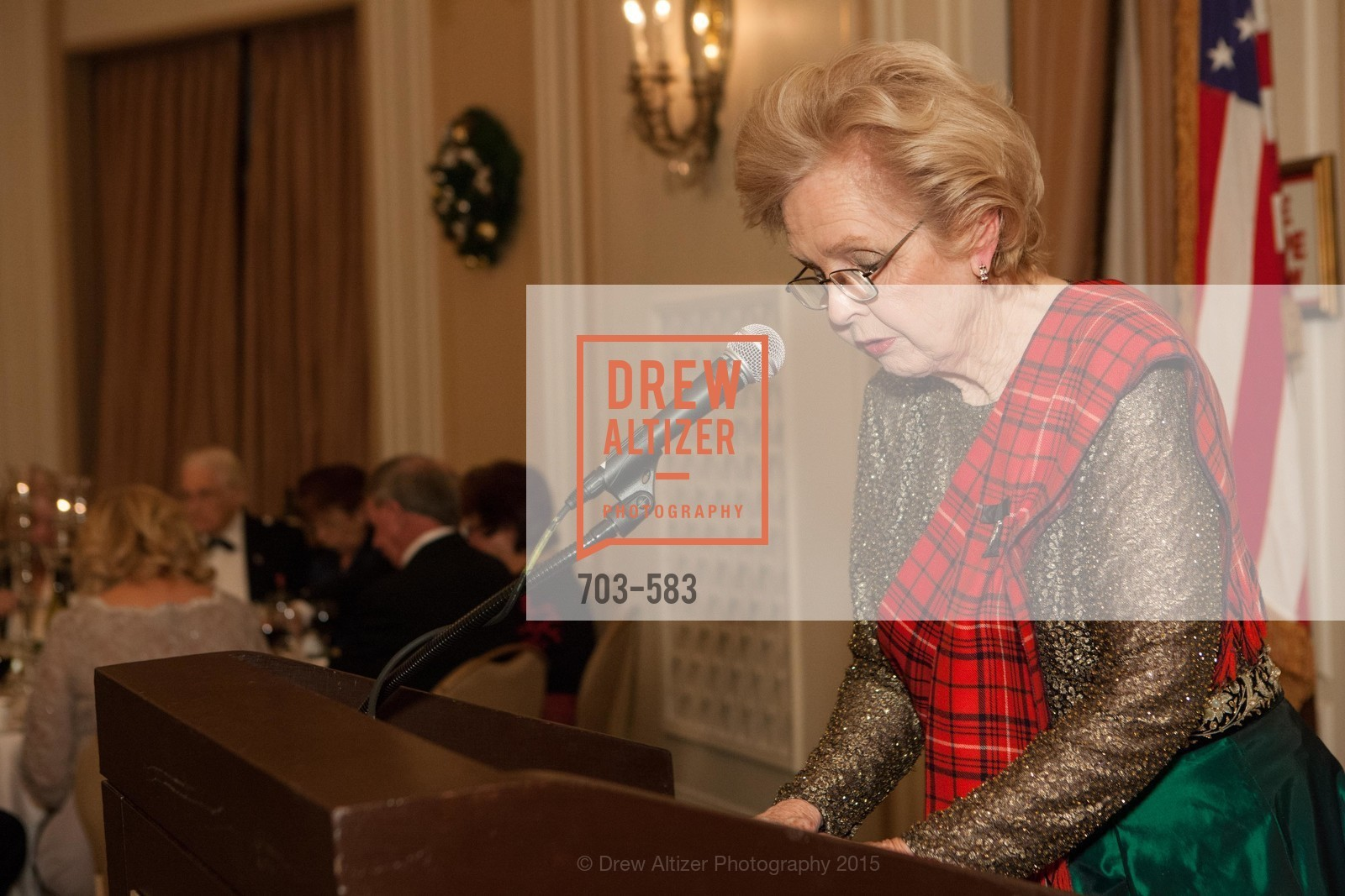 Marilyn Van Story, St. Andrew's Society of San Francisco Annual Banquet and Ball 2015, Marines' Memorial Club & Hotel. 609 Sutter St, November 28th, 2015,Drew Altizer, Drew Altizer Photography, full-service agency, private events, San Francisco photographer, photographer california