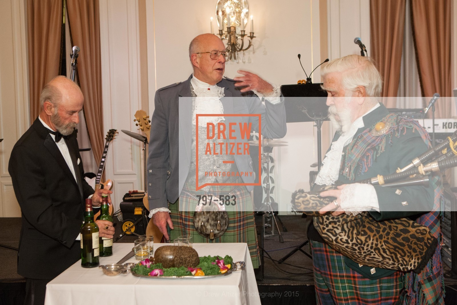 Allan Ferguson, Fred Macondray, Jek Cunningham, St. Andrew's Society of San Francisco Annual Banquet and Ball 2015, Marines' Memorial Club & Hotel. 609 Sutter St, November 28th, 2015,Drew Altizer, Drew Altizer Photography, full-service agency, private events, San Francisco photographer, photographer california