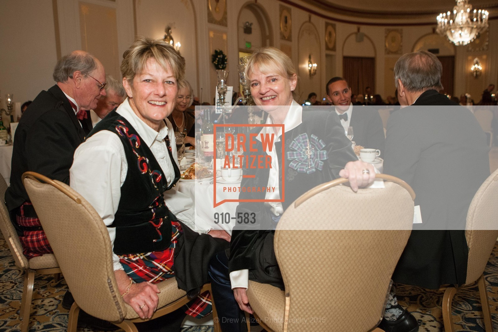 Jean Cary, Lynne Day, St. Andrew's Society of San Francisco Annual Banquet and Ball 2015, Marines' Memorial Club & Hotel. 609 Sutter St, November 28th, 2015,Drew Altizer, Drew Altizer Photography, full-service agency, private events, San Francisco photographer, photographer california