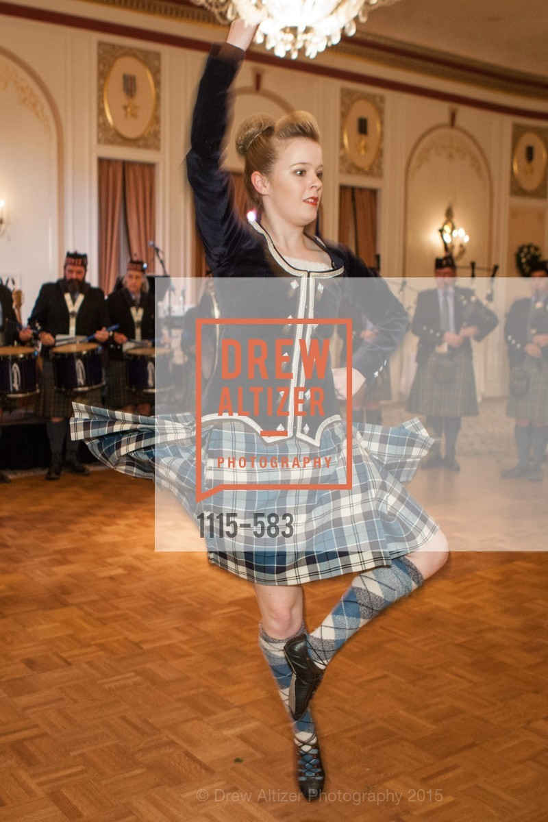 Performance, St. Andrew's Society of San Francisco Annual Banquet and Ball 2015, Marines' Memorial Club & Hotel. 609 Sutter St, November 28th, 2015