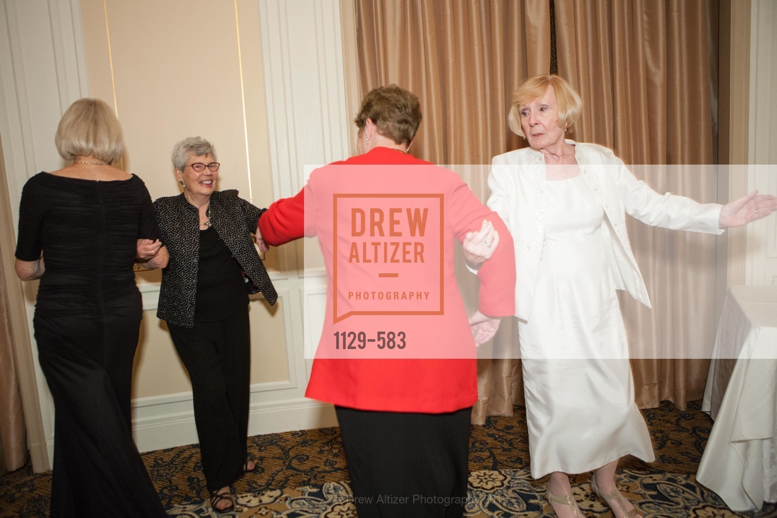 Diana Sworakowski, Jane Standing, Pamela Sweetman, Betty Legan, St. Andrew's Society of San Francisco Annual Banquet and Ball 2015, Marines' Memorial Club & Hotel. 609 Sutter St, November 28th, 2015,Drew Altizer, Drew Altizer Photography, full-service event agency, private events, San Francisco photographer, photographer California