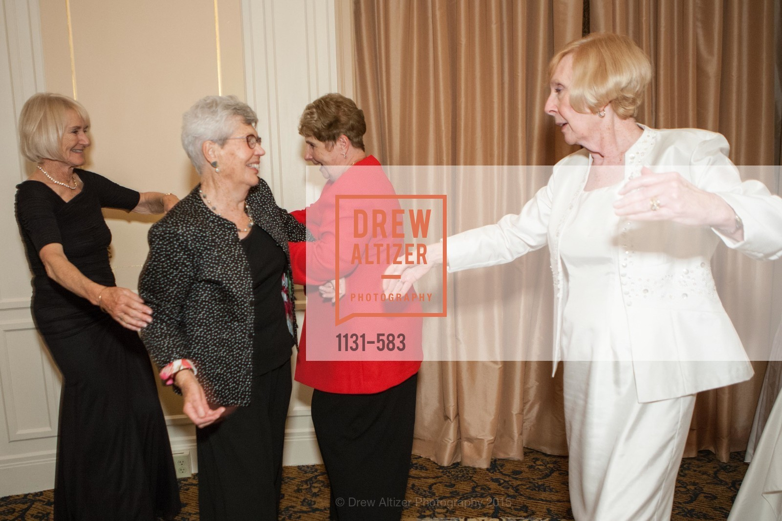Diana Sworakowski, Jane Standing, Pamela Sweetman, Betty Legan, St. Andrew's Society of San Francisco Annual Banquet and Ball 2015, Marines' Memorial Club & Hotel. 609 Sutter St, November 28th, 2015,Drew Altizer, Drew Altizer Photography, full-service agency, private events, San Francisco photographer, photographer california