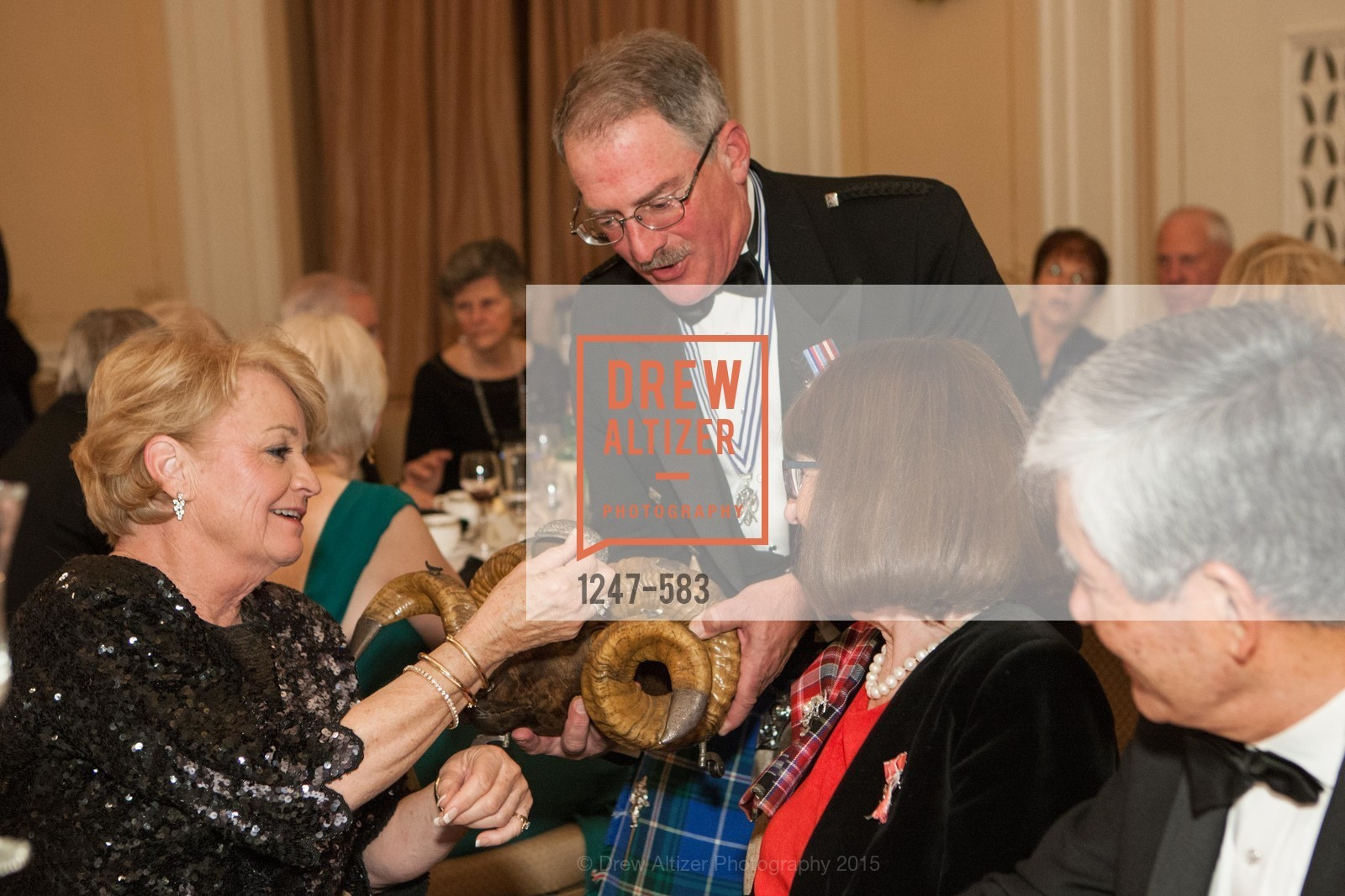 Day O'Brien, Fred Rutledge, St. Andrew's Society of San Francisco Annual Banquet and Ball 2015, Marines' Memorial Club & Hotel. 609 Sutter St, November 28th, 2015,Drew Altizer, Drew Altizer Photography, full-service agency, private events, San Francisco photographer, photographer california