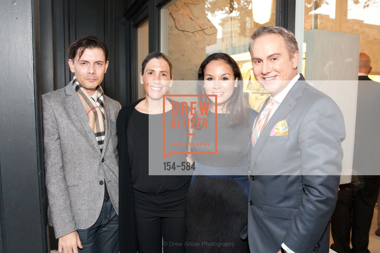 Damion Matthews, Gabrielle Martin DelCampos, Bahya Oumil-Murad, Joel Goodrich, 141001-AlexisBittar-correct, US, October 1st, 2014,Drew Altizer, Drew Altizer Photography, full-service agency, private events, San Francisco photographer, photographer california