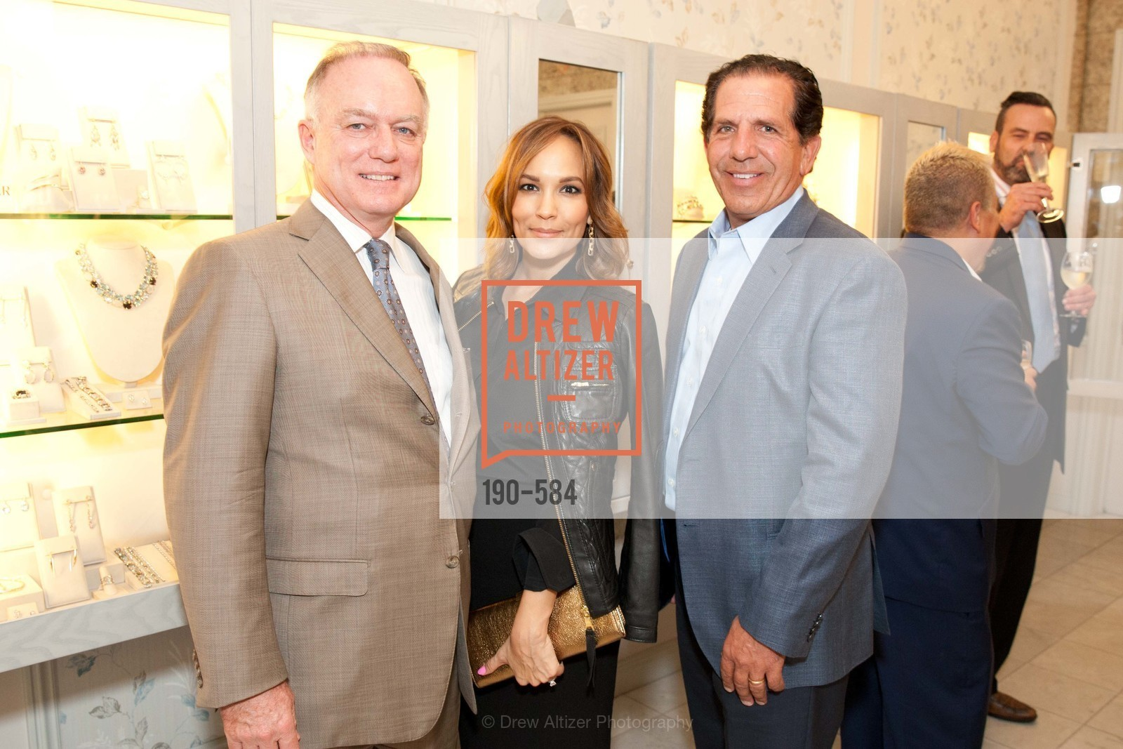 Don DuBain, Lora DuBain, Bob Federighi, Alexis Bittar Event; Support of the San Francisco Fall Antique Show Benefitting Enterprise for High School Students Francisco Fall Antique Show, benefiting Enterprise for High School Students, US, October 2nd, 2014,Drew Altizer, Drew Altizer Photography, full-service agency, private events, San Francisco photographer, photographer california