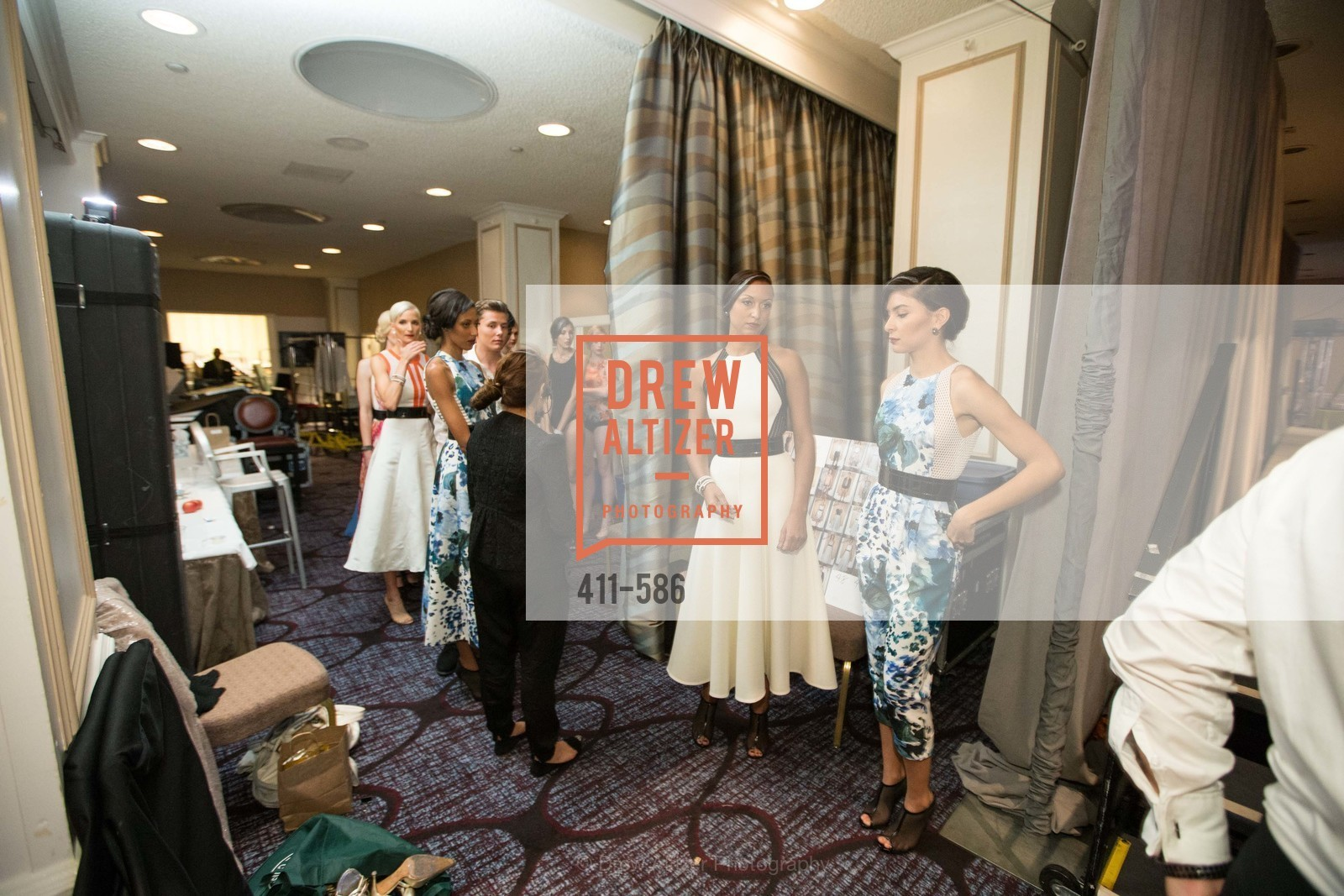 Backstage, 2014 Bay Area ARTHRITIS AUXILLIARY Benefit & Fashion Show, US, October 1st, 2014,Drew Altizer, Drew Altizer Photography, full-service agency, private events, San Francisco photographer, photographer california