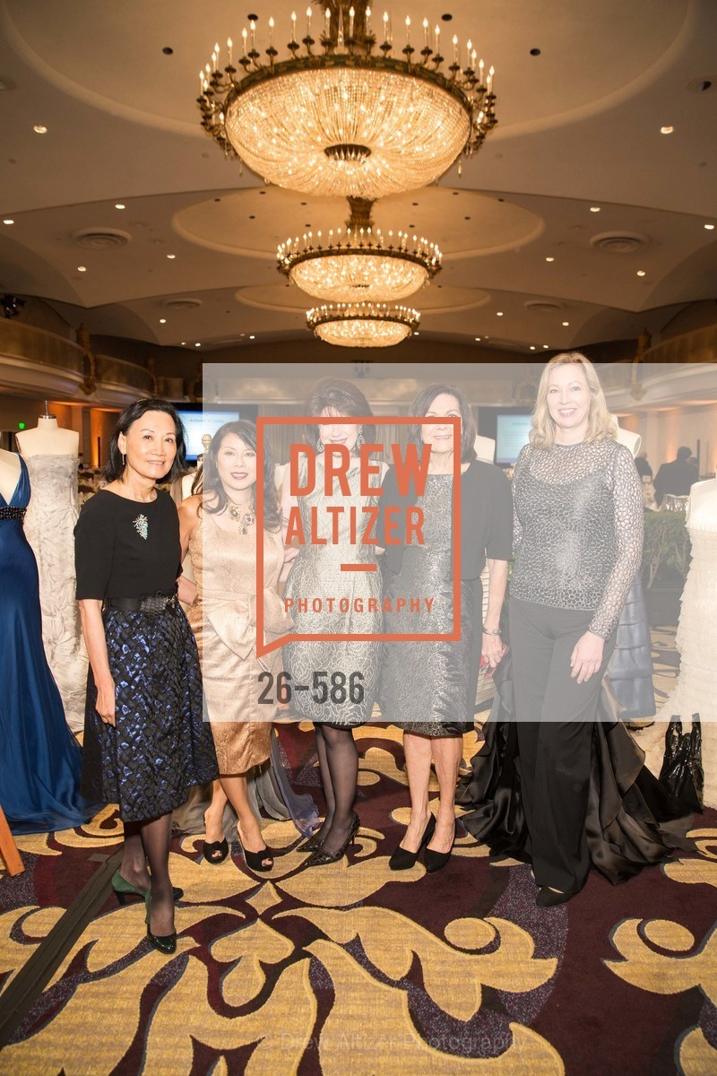 Iris Chan, Sharon Seto, Elaine Mellis, Pamela Culp, Betsy Vobach, 2014 Bay Area ARTHRITIS AUXILLIARY Benefit & Fashion Show, US, October 2nd, 2014,Drew Altizer, Drew Altizer Photography, full-service event agency, private events, San Francisco photographer, photographer California