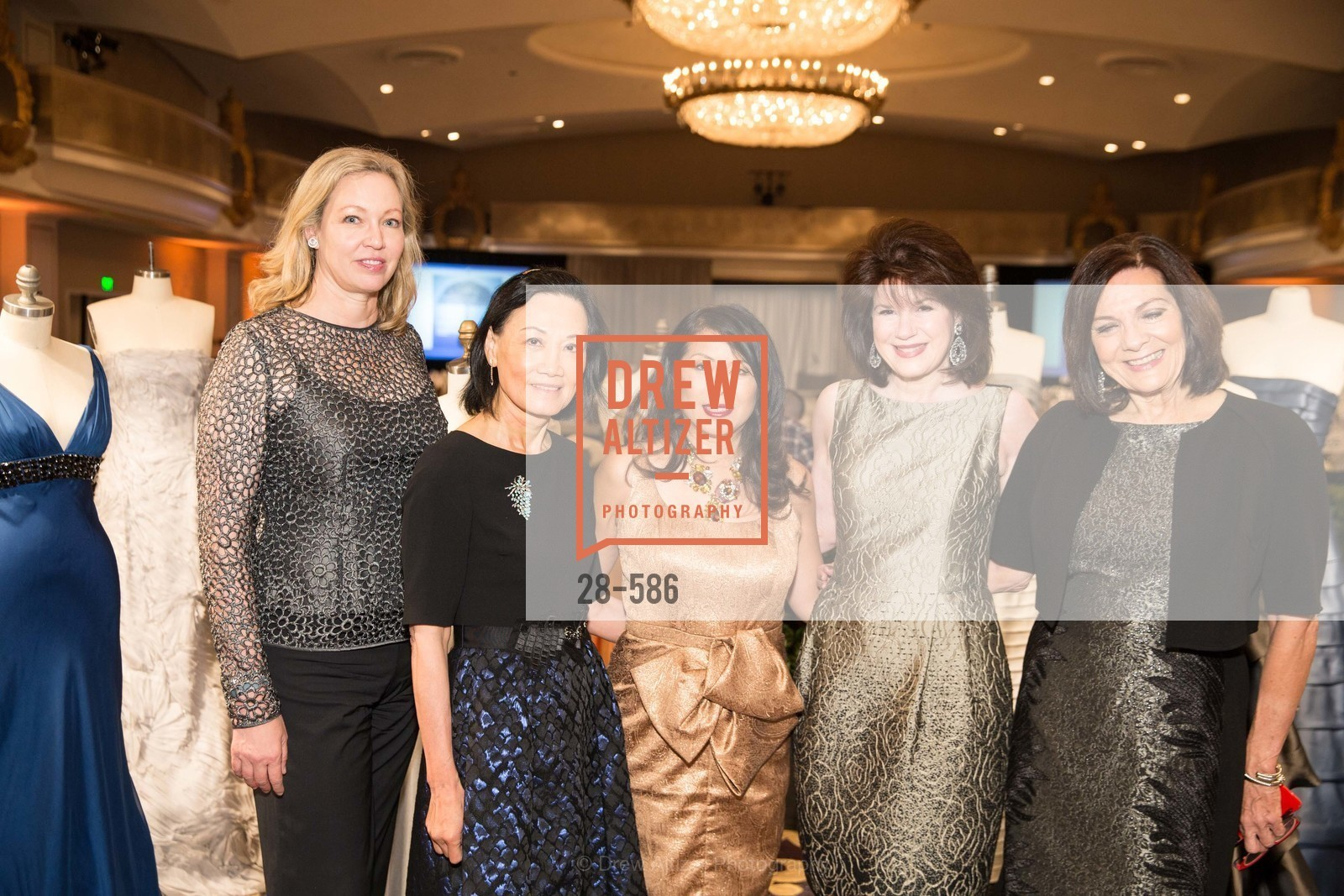 Betsy Vobach, Iris Chan, Sharon Seto, Elaine Mellis, Pamela Culp, 2014 Bay Area ARTHRITIS AUXILLIARY Benefit & Fashion Show, US, October 2nd, 2014,Drew Altizer, Drew Altizer Photography, full-service agency, private events, San Francisco photographer, photographer california