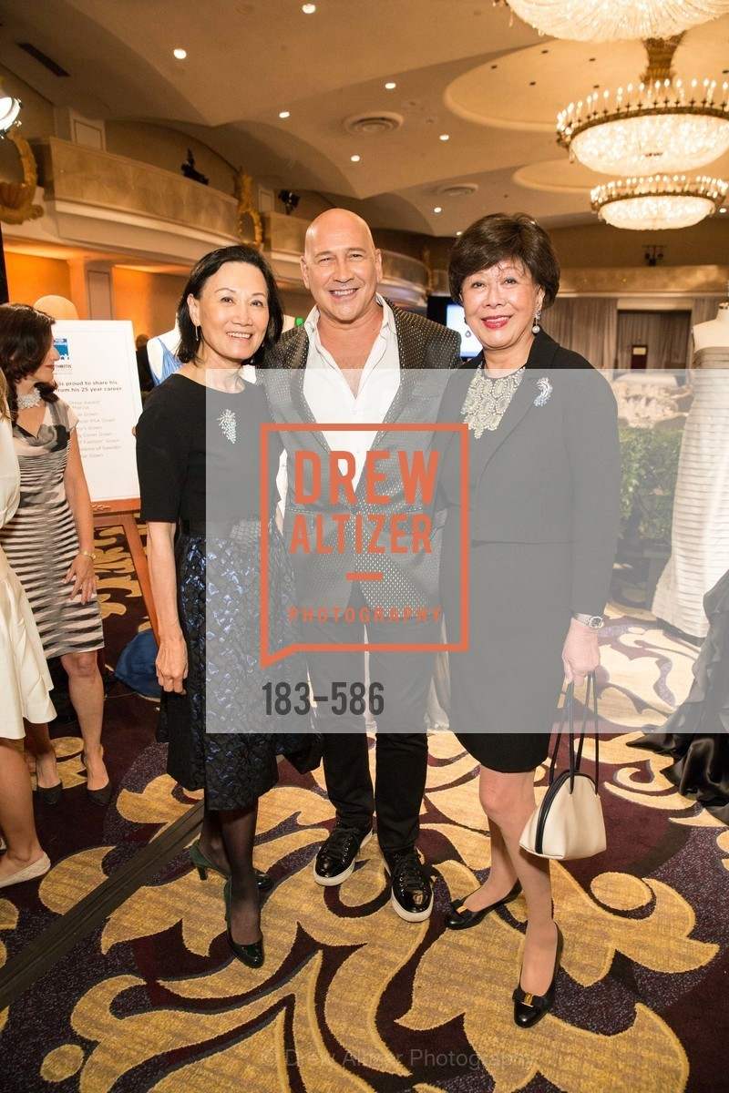 Iris Chan, Carmen Marc Valvo, Margaret Collins, 2014 Bay Area ARTHRITIS AUXILLIARY Benefit & Fashion Show, US, October 2nd, 2014,Drew Altizer, Drew Altizer Photography, full-service agency, private events, San Francisco photographer, photographer california