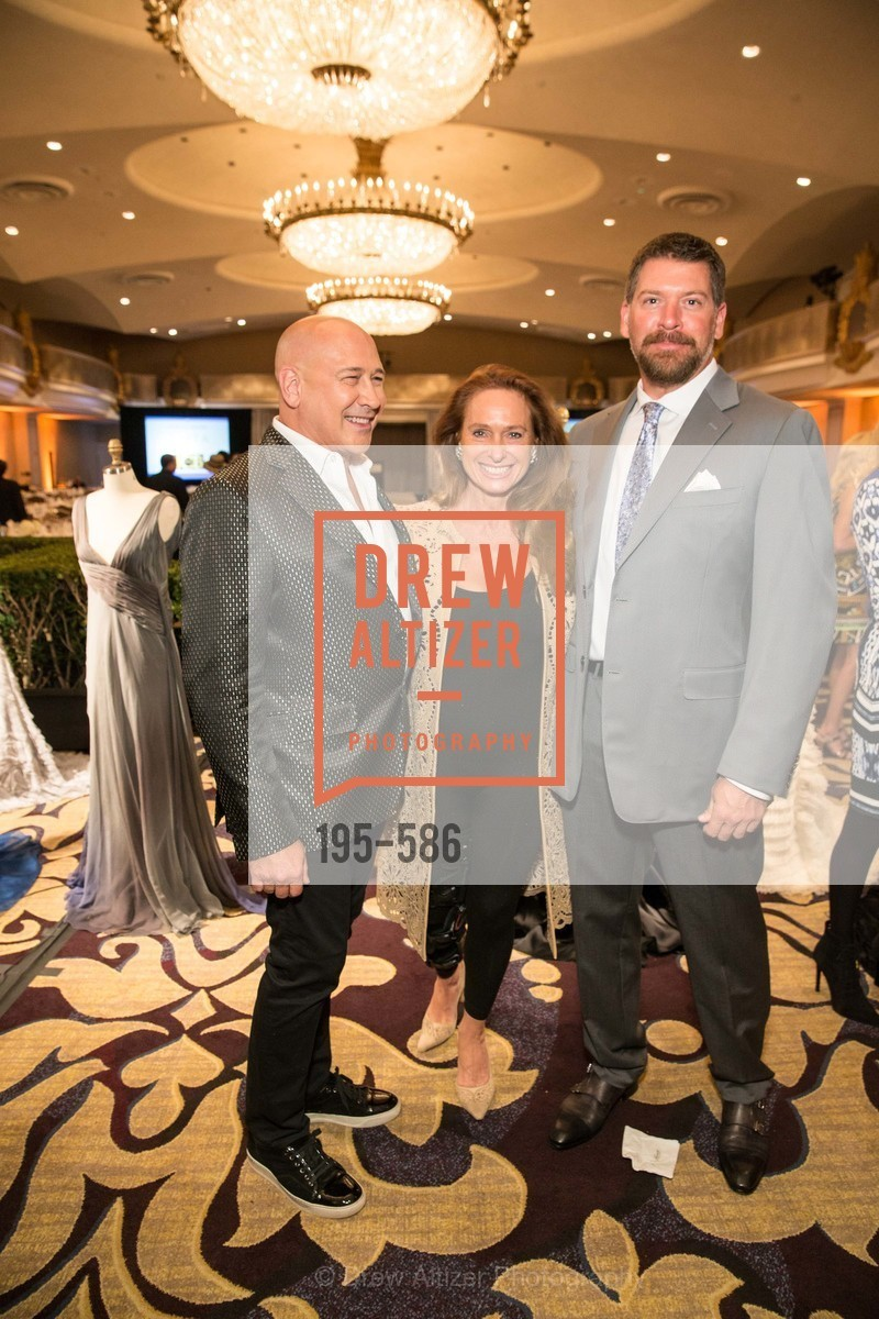 Carmen Marc Valvo, Elisabeth Thieriot, Peter Lago, 2014 Bay Area ARTHRITIS AUXILLIARY Benefit & Fashion Show, US, October 2nd, 2014,Drew Altizer, Drew Altizer Photography, full-service agency, private events, San Francisco photographer, photographer california