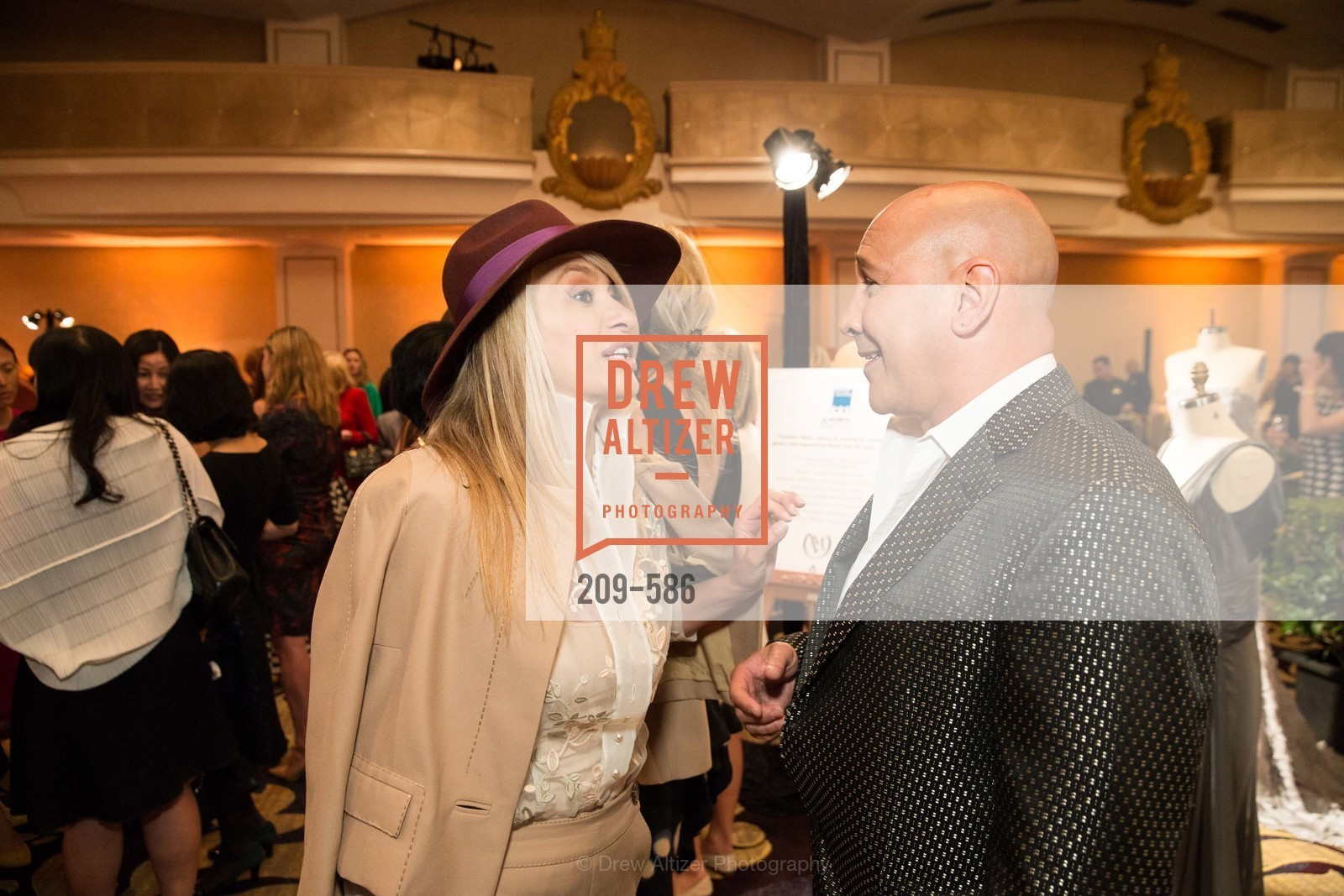 Navid Armstrong, Carmen Marc Valvo, 2014 Bay Area ARTHRITIS AUXILLIARY Benefit & Fashion Show, US, October 2nd, 2014