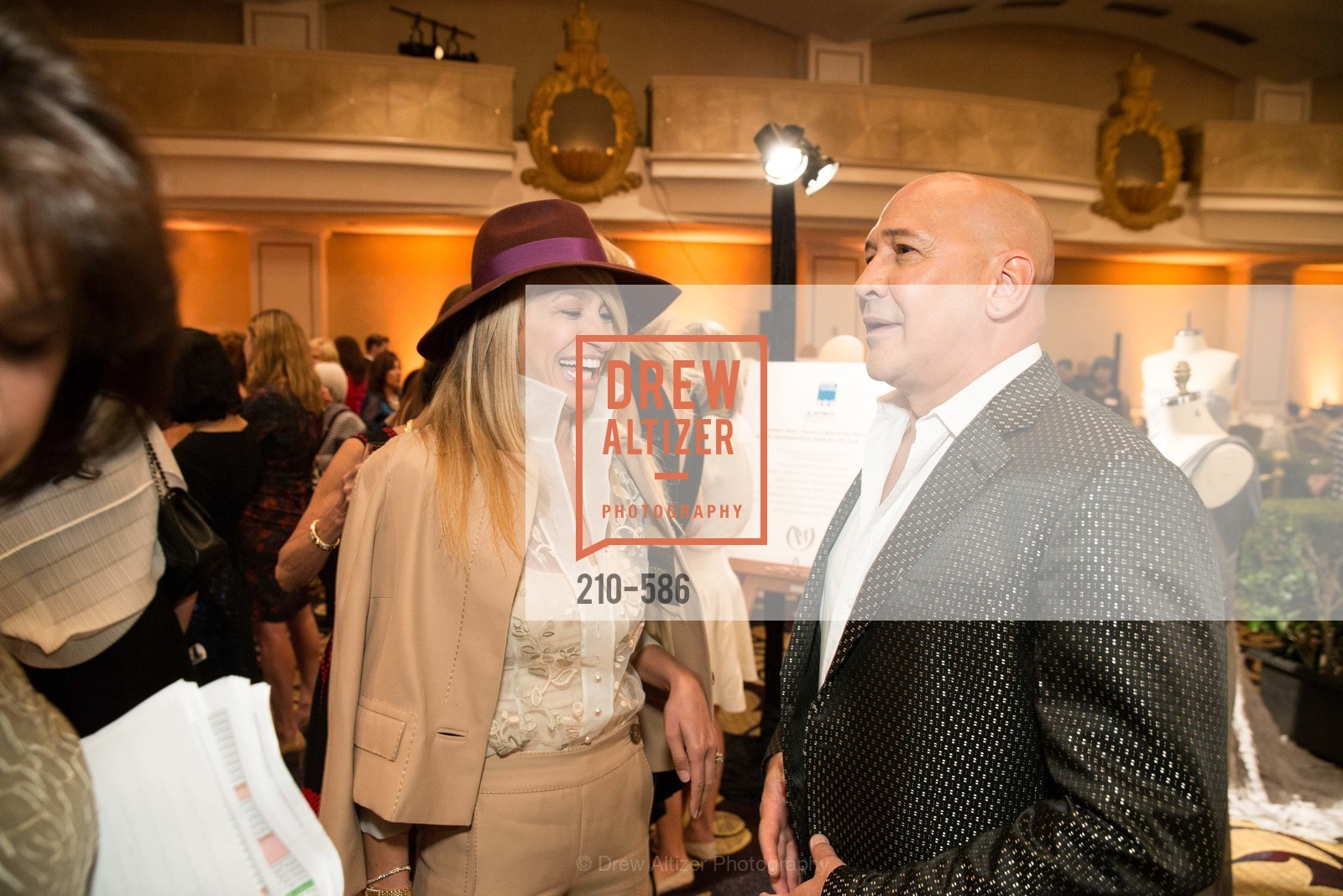 Navid Armstrong, Carmen Marc Valvo, 2014 Bay Area ARTHRITIS AUXILLIARY Benefit & Fashion Show, US, October 2nd, 2014,Drew Altizer, Drew Altizer Photography, full-service agency, private events, San Francisco photographer, photographer california