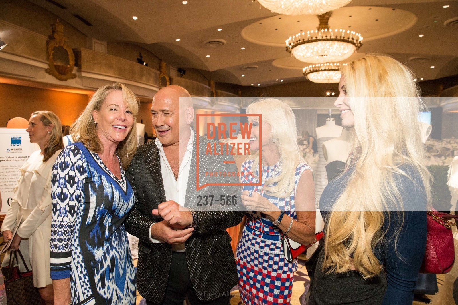 Lyhn Haller, Carmen Marc Valvo, Daru Kawalkowski, Tiara Cameron, 2014 Bay Area ARTHRITIS AUXILLIARY Benefit & Fashion Show, US, October 2nd, 2014,Drew Altizer, Drew Altizer Photography, full-service agency, private events, San Francisco photographer, photographer california