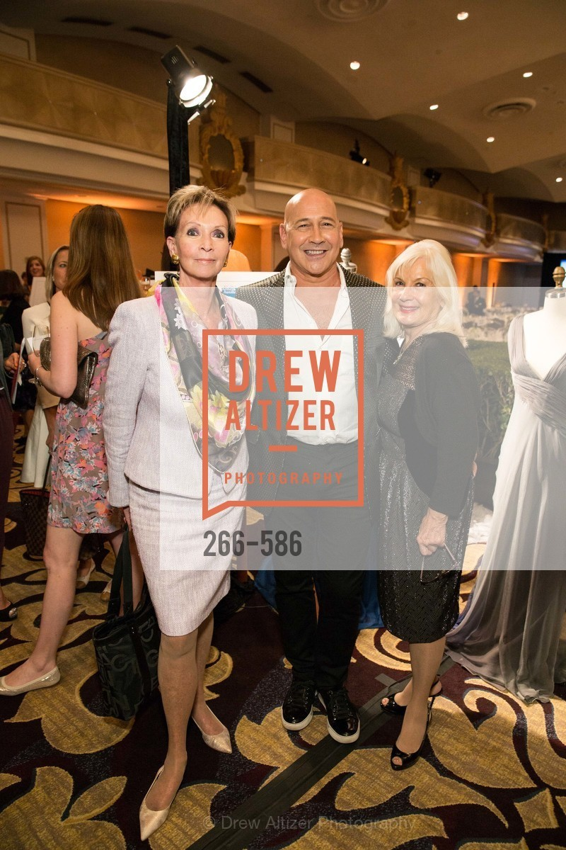 Sallie Huntting, Carmen Marc Valvo, Arlene Inch, 2014 Bay Area ARTHRITIS AUXILLIARY Benefit & Fashion Show, US, October 2nd, 2014,Drew Altizer, Drew Altizer Photography, full-service agency, private events, San Francisco photographer, photographer california