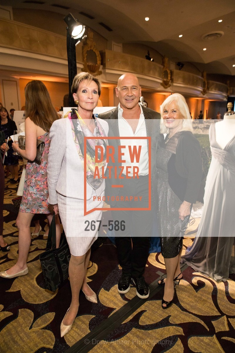 Sallie Huntting, Carmen Marc Valvo, Arlene Inch, 2014 Bay Area ARTHRITIS AUXILLIARY Benefit & Fashion Show, US, October 1st, 2014,Drew Altizer, Drew Altizer Photography, full-service agency, private events, San Francisco photographer, photographer california