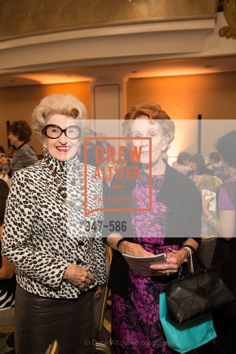 Genelle Relfe, Phoebe Cowles, 2014 Bay Area ARTHRITIS AUXILLIARY Benefit & Fashion Show, US, October 2nd, 2014