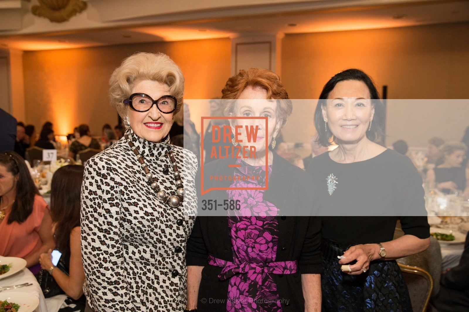 Genelle Relfe, Phoebe Cowles, Iris Chan, 2014 Bay Area ARTHRITIS AUXILLIARY Benefit & Fashion Show, US, October 2nd, 2014