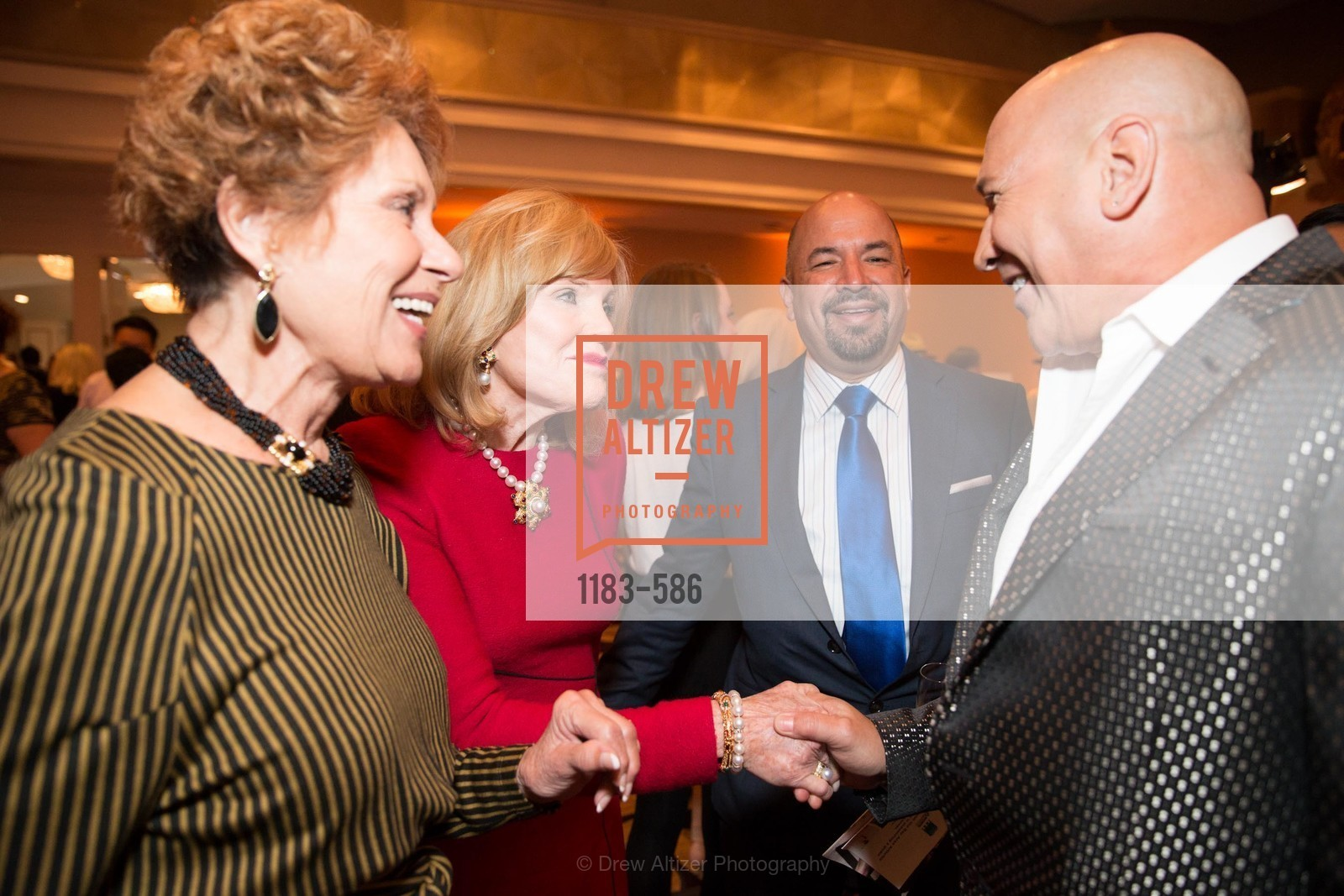 Sandy Merrando, Nancy Greenbach, Ted Hannig, Carmen Marc Valvo, 2014 Bay Area ARTHRITIS AUXILLIARY Benefit & Fashion Show, US, October 1st, 2014,Drew Altizer, Drew Altizer Photography, full-service agency, private events, San Francisco photographer, photographer california
