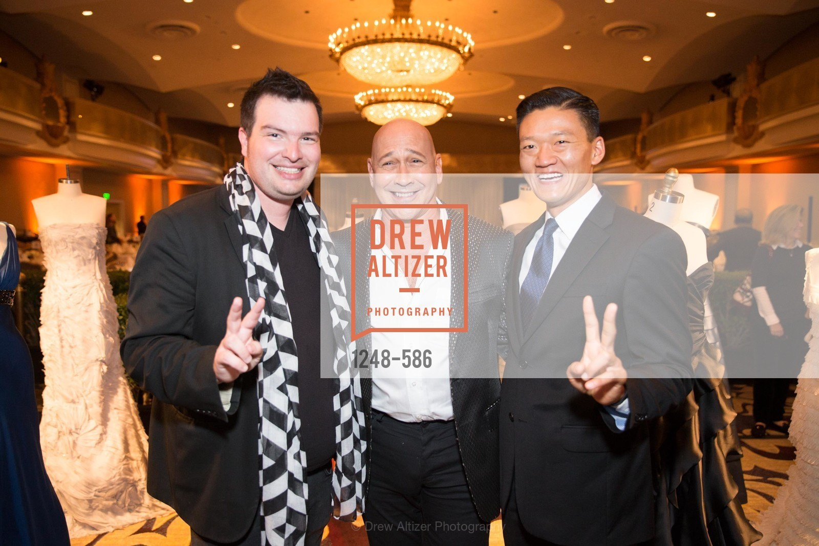 Jason Brock, Carmen Marc Valvo, Dan Toy, 2014 Bay Area ARTHRITIS AUXILLIARY Benefit & Fashion Show, US, October 1st, 2014,Drew Altizer, Drew Altizer Photography, full-service agency, private events, San Francisco photographer, photographer california