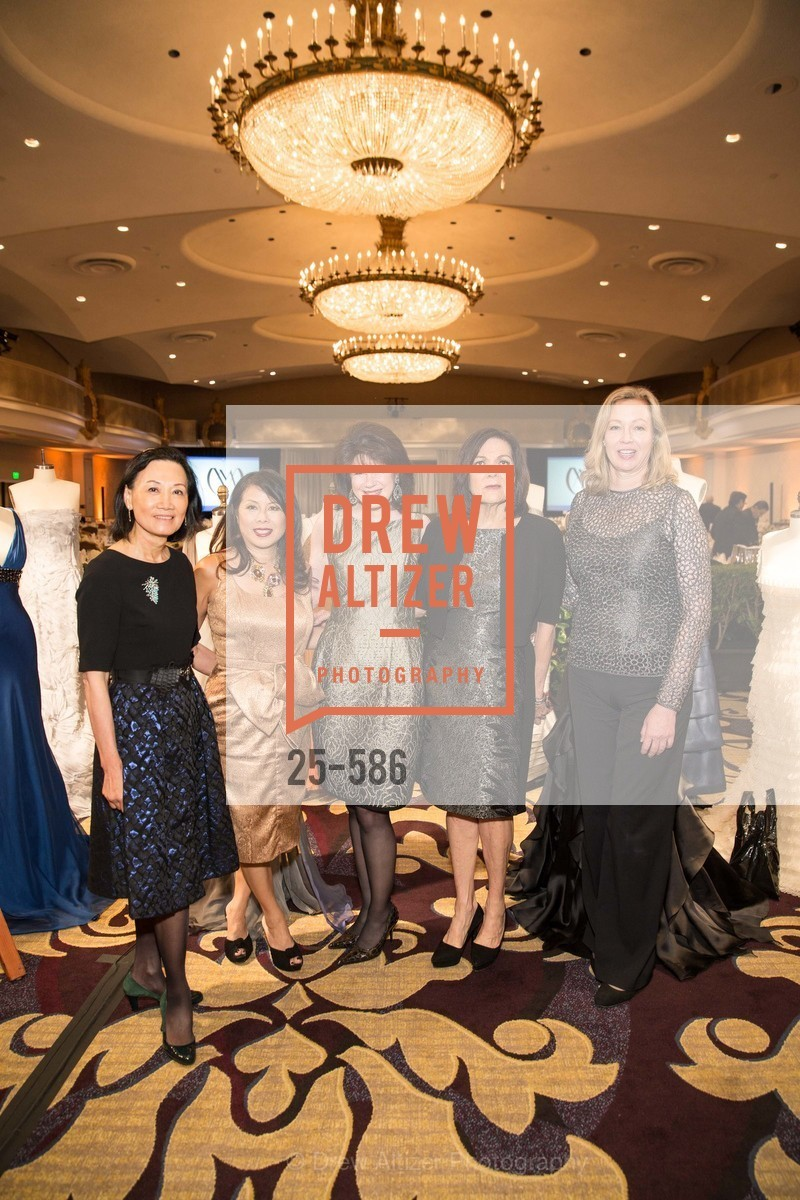 Iris Chan, Sharon Seto, Elaine Mellis, Pamela Culp, Betsy Vobach, 2014 Bay Area ARTHRITIS AUXILLIARY Benefit & Fashion Show, US, October 2nd, 2014,Drew Altizer, Drew Altizer Photography, full-service agency, private events, San Francisco photographer, photographer california