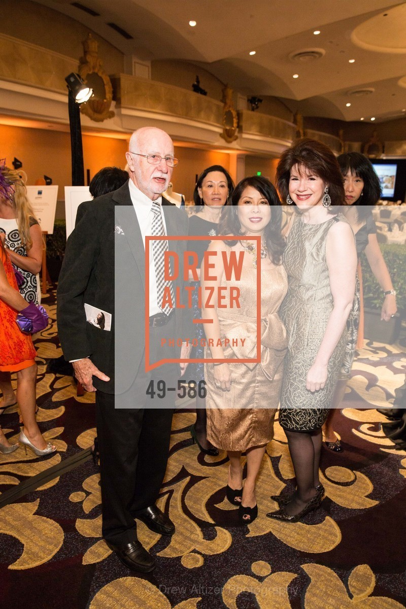 George Lucas, Sharon Seto, Elaine Mellis, 2014 Bay Area ARTHRITIS AUXILLIARY Benefit & Fashion Show, US, October 1st, 2014,Drew Altizer, Drew Altizer Photography, full-service agency, private events, San Francisco photographer, photographer california