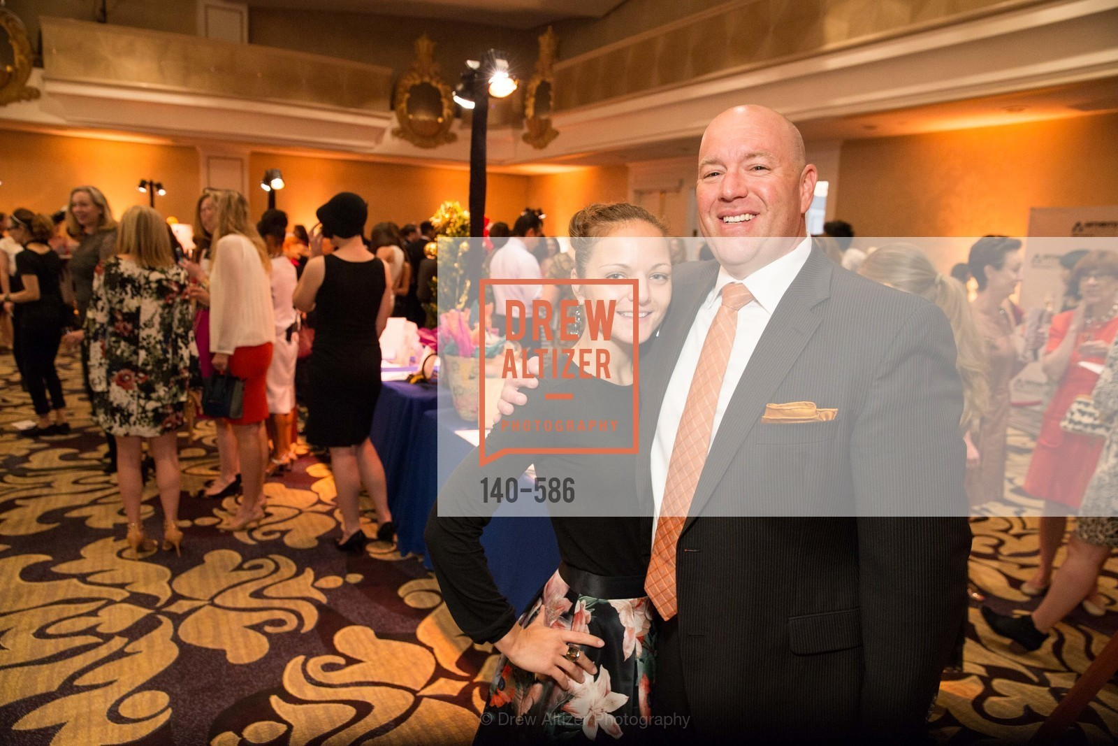 Ana Blackwell, Phil Siegel, 2014 Bay Area ARTHRITIS AUXILLIARY Benefit & Fashion Show, US, October 2nd, 2014,Drew Altizer, Drew Altizer Photography, full-service event agency, private events, San Francisco photographer, photographer California