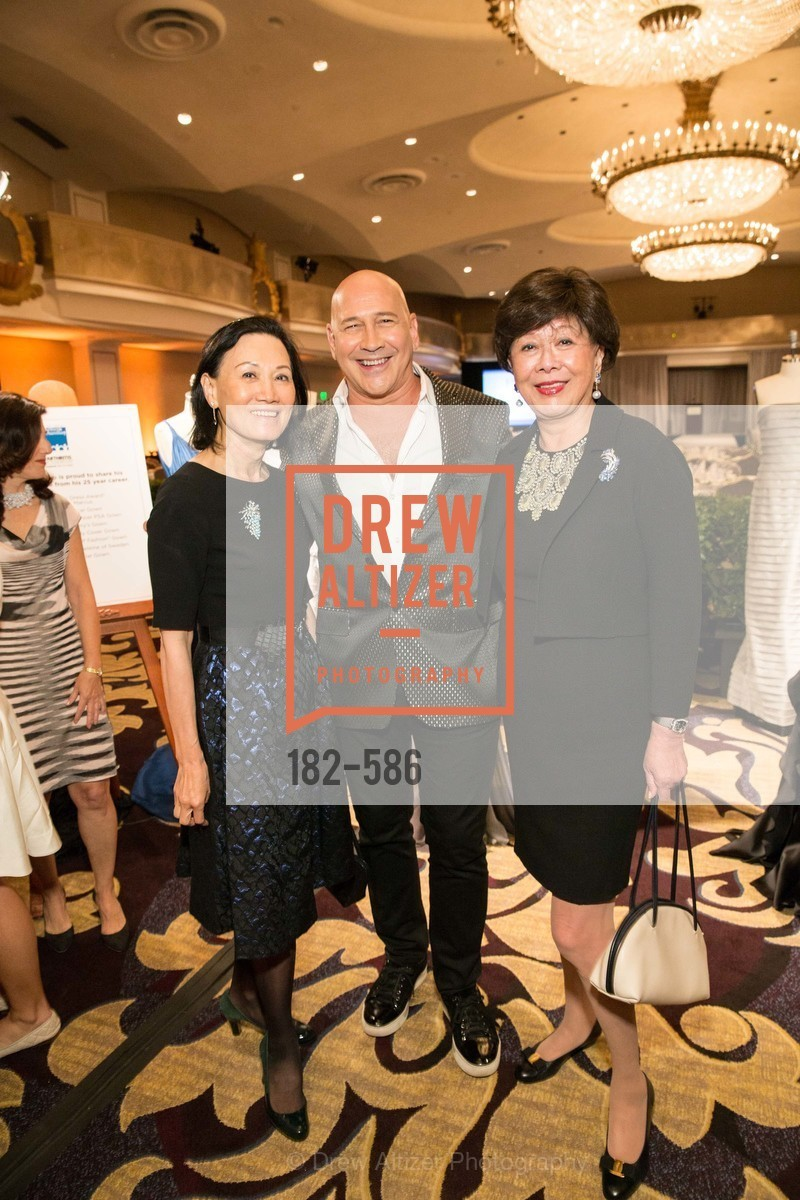 Iris Chan, Carmen Marc Valvo, Margaret Collins, 2014 Bay Area ARTHRITIS AUXILLIARY Benefit & Fashion Show, US, October 1st, 2014,Drew Altizer, Drew Altizer Photography, full-service agency, private events, San Francisco photographer, photographer california