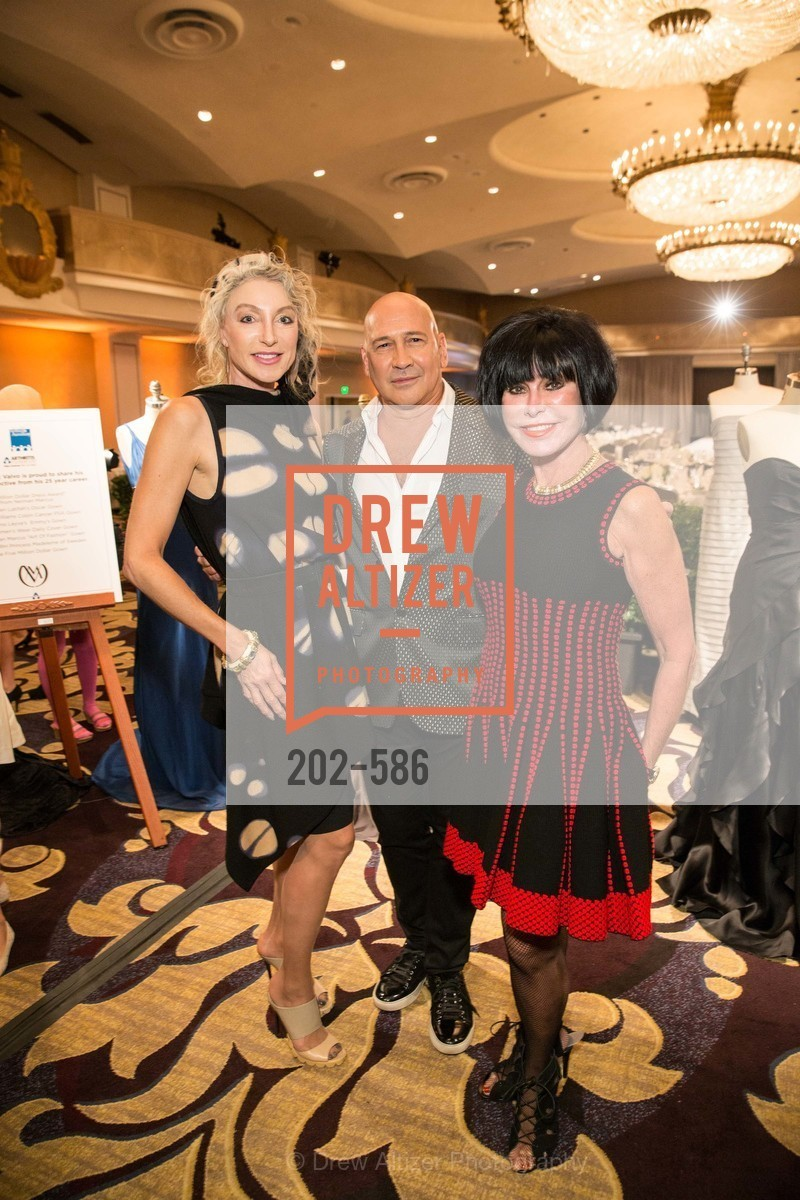 Alisa Burgess-Blajwas, Carmen Marc Valvo, Marilyn Cabak, 2014 Bay Area ARTHRITIS AUXILLIARY Benefit & Fashion Show, US, October 1st, 2014,Drew Altizer, Drew Altizer Photography, full-service agency, private events, San Francisco photographer, photographer california