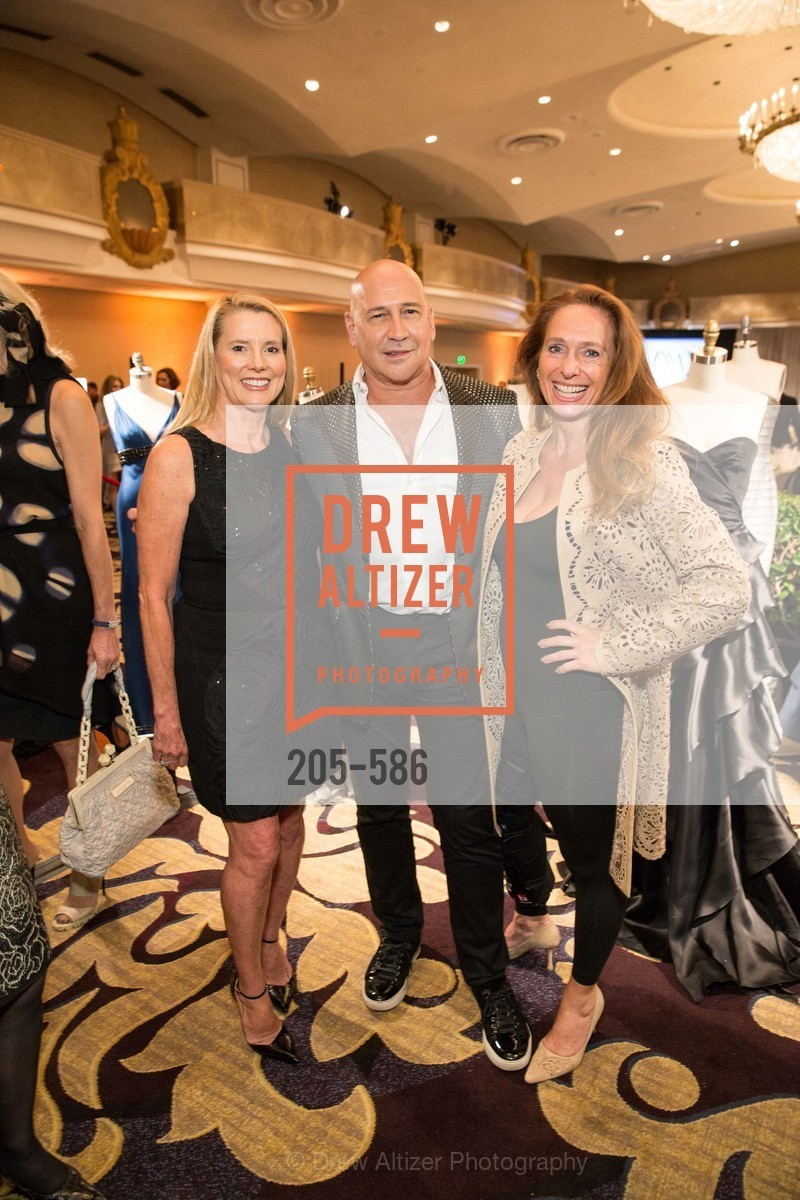 Christina DeLimur, Carmen Marc Valvo, Elisabeth Thieriot, 2014 Bay Area ARTHRITIS AUXILLIARY Benefit & Fashion Show, US, October 2nd, 2014,Drew Altizer, Drew Altizer Photography, full-service agency, private events, San Francisco photographer, photographer california