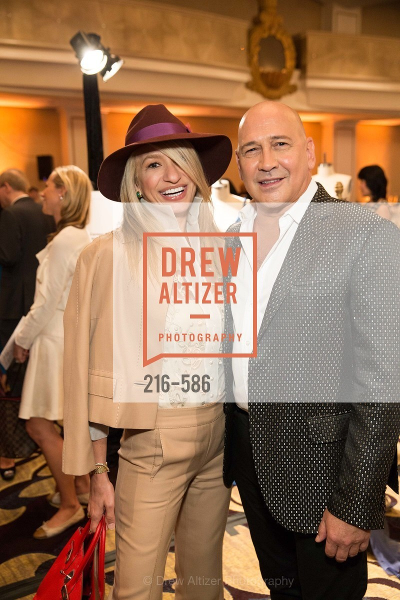 Navid Armstrong, Carmen Marc Valvo, 2014 Bay Area ARTHRITIS AUXILLIARY Benefit & Fashion Show, US, October 1st, 2014,Drew Altizer, Drew Altizer Photography, full-service agency, private events, San Francisco photographer, photographer california