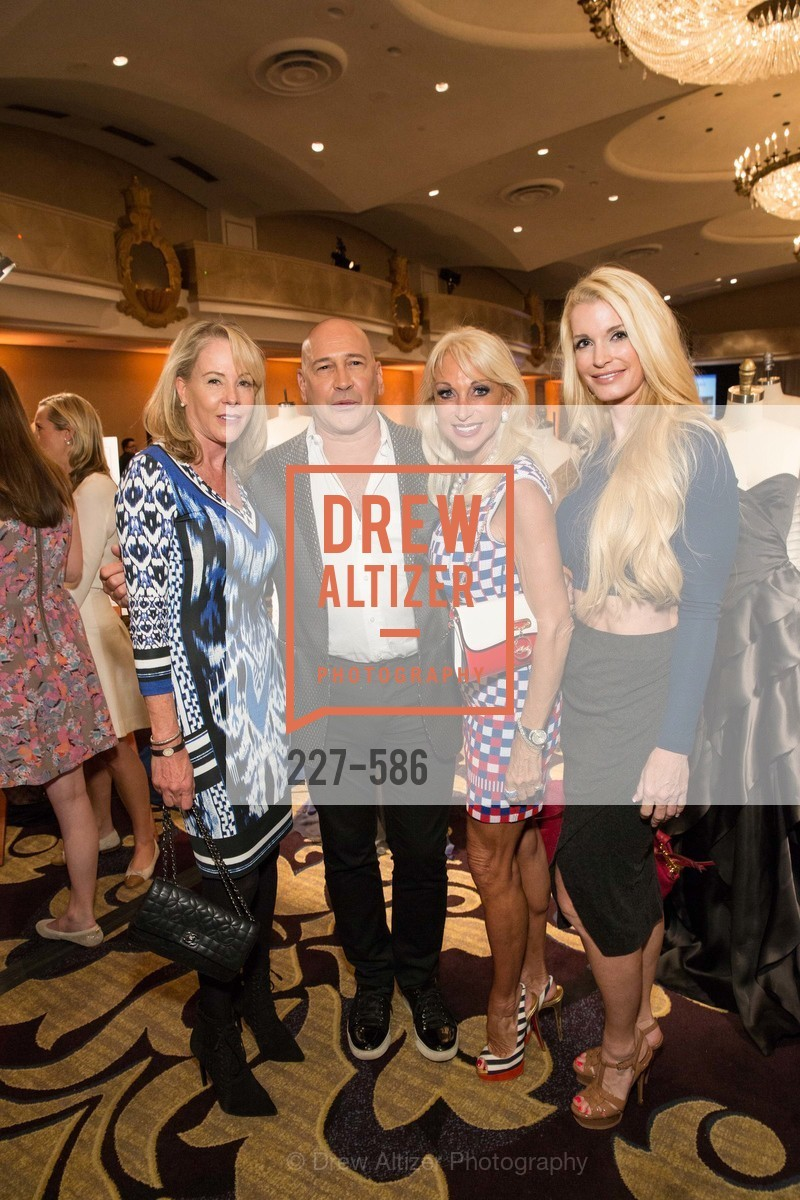 Lyhn Haller, Carmen Marc Valvo, Daru Kawalkowski, Tiara Cameron, 2014 Bay Area ARTHRITIS AUXILLIARY Benefit & Fashion Show, US, October 2nd, 2014,Drew Altizer, Drew Altizer Photography, full-service event agency, private events, San Francisco photographer, photographer California