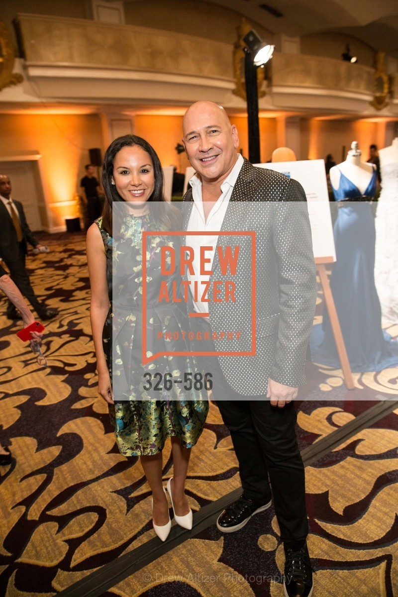 Bahya Oumil-Murad, Carmen Marc Valvo, 2014 Bay Area ARTHRITIS AUXILLIARY Benefit & Fashion Show, US, October 1st, 2014,Drew Altizer, Drew Altizer Photography, full-service agency, private events, San Francisco photographer, photographer california