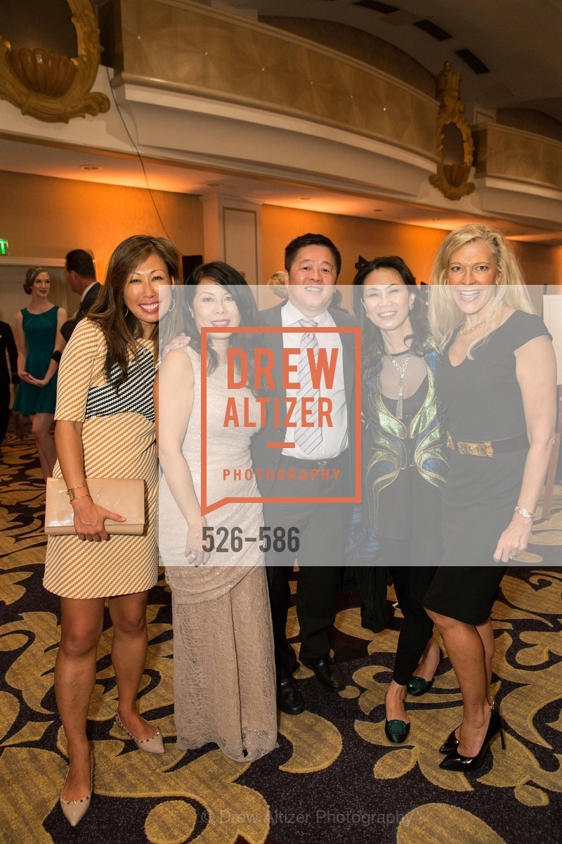 Joy Boatwright, Sharon Seto, David Seto, Xiaojun Lee, Suzanna Jackson, 2014 Bay Area ARTHRITIS AUXILLIARY Benefit & Fashion Show, US, October 1st, 2014,Drew Altizer, Drew Altizer Photography, full-service agency, private events, San Francisco photographer, photographer california