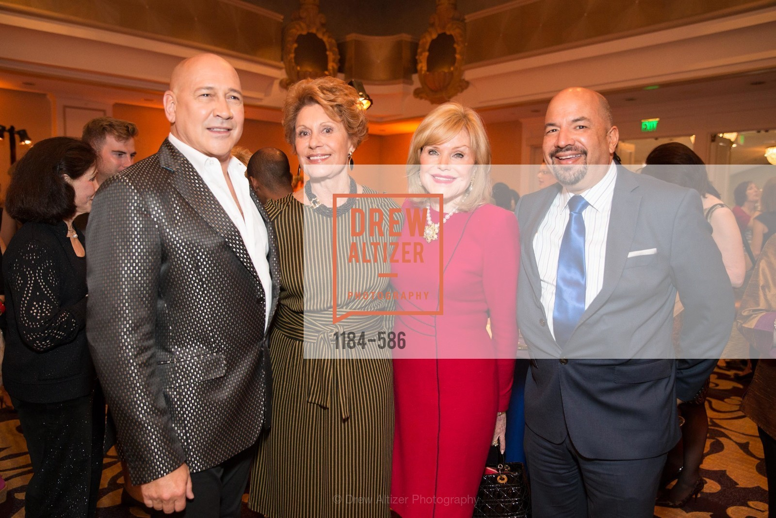 Carmen Marc Valvo, Sandy Merrando, Nancy Greenbach, Ted Hannig, 2014 Bay Area ARTHRITIS AUXILLIARY Benefit & Fashion Show, US, October 1st, 2014,Drew Altizer, Drew Altizer Photography, full-service agency, private events, San Francisco photographer, photographer california