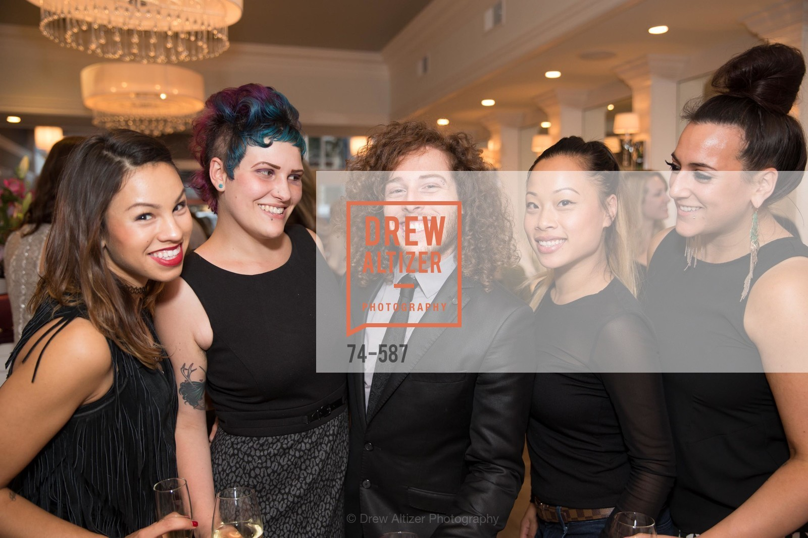 Ruby Gallardo, Cynthia Irvis, Aaron Gluck, Donna Rao, Brittany Paz, BLOOM BLOW DRY BAR Grand Opening Party, US, October 2nd, 2014,Drew Altizer, Drew Altizer Photography, full-service agency, private events, San Francisco photographer, photographer california