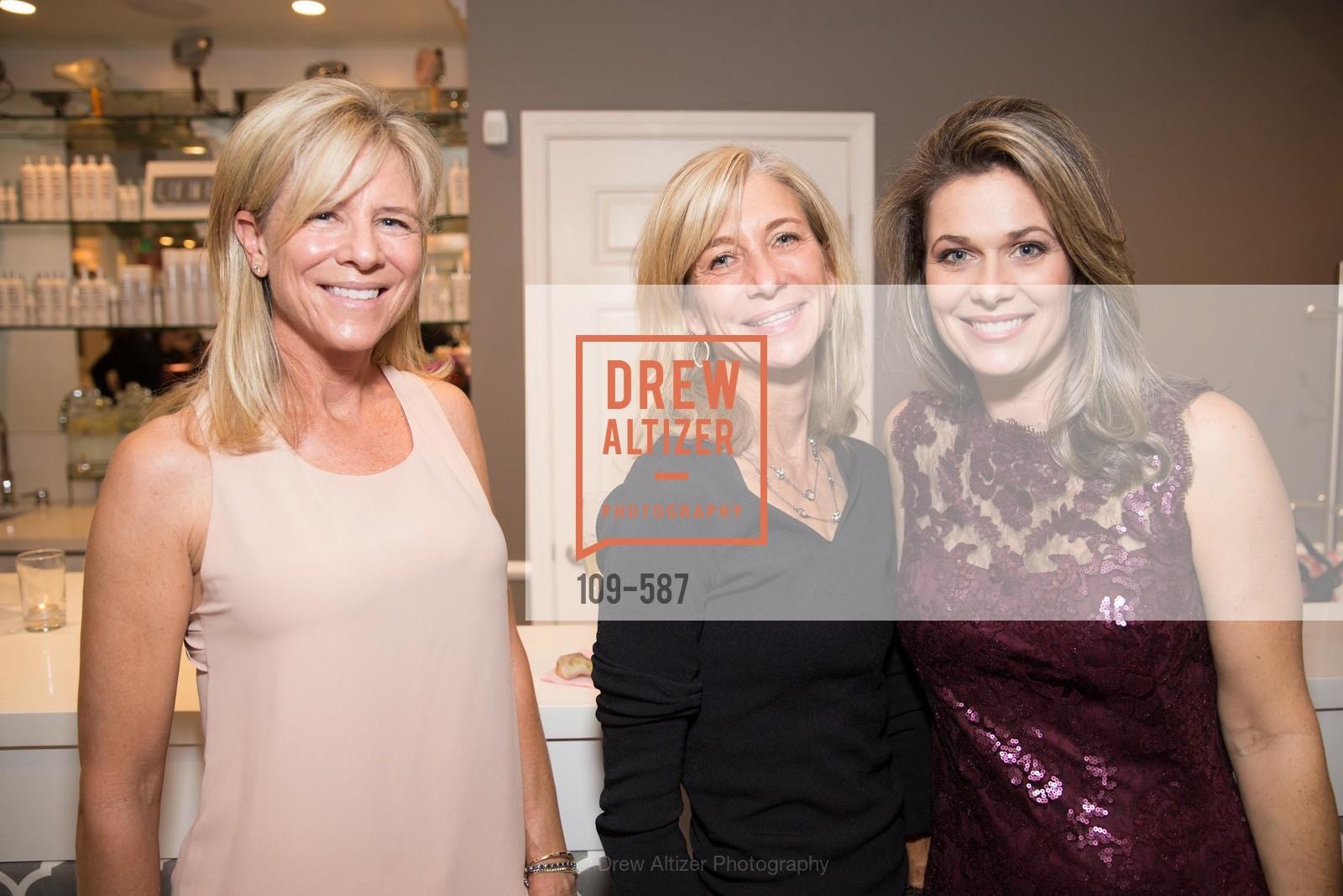 Sally McDonough, Janie Burke, Dawn Hahn, BLOOM BLOW DRY BAR Grand Opening Party, US, October 1st, 2014,Drew Altizer, Drew Altizer Photography, full-service agency, private events, San Francisco photographer, photographer california