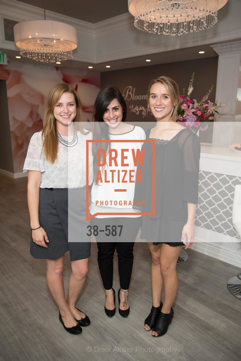 Hilary Burns, Toni Graziano, Rachel Sutton, BLOOM BLOW DRY BAR Grand Opening Party, US, October 2nd, 2014,Drew Altizer, Drew Altizer Photography, full-service agency, private events, San Francisco photographer, photographer california