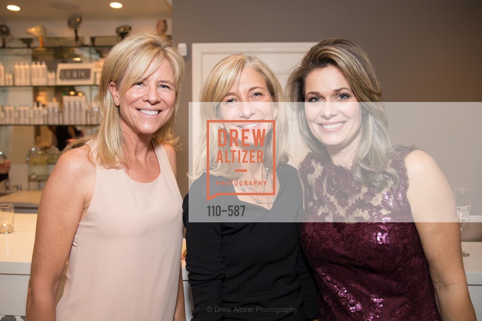 Sally McDonough, Janie Burke, Dawn Hahn, BLOOM BLOW DRY BAR Grand Opening Party, US, October 2nd, 2014,Drew Altizer, Drew Altizer Photography, full-service agency, private events, San Francisco photographer, photographer california