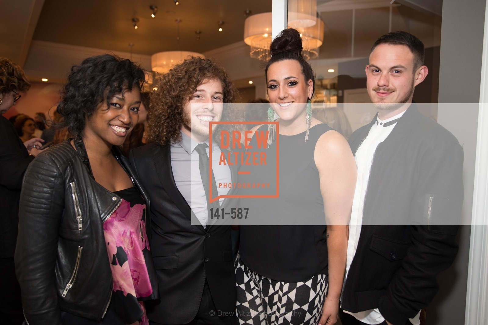 Jodi Rose, Aaron Gluck, Brittany Paz, Anthony Matcenas, BLOOM BLOW DRY BAR Grand Opening Party, US, October 1st, 2014,Drew Altizer, Drew Altizer Photography, full-service agency, private events, San Francisco photographer, photographer california