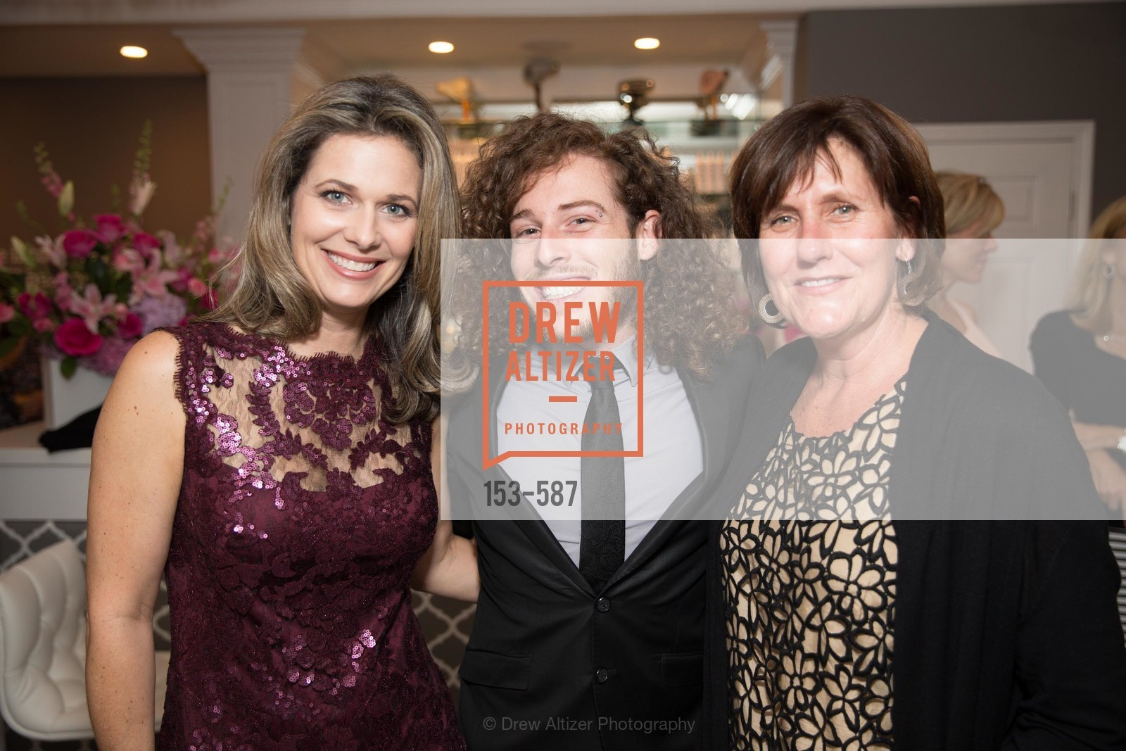 Dawn Hahn, Aaron Gluck, Ann Marie Jesse, BLOOM BLOW DRY BAR Grand Opening Party, US, October 2nd, 2014,Drew Altizer, Drew Altizer Photography, full-service event agency, private events, San Francisco photographer, photographer California