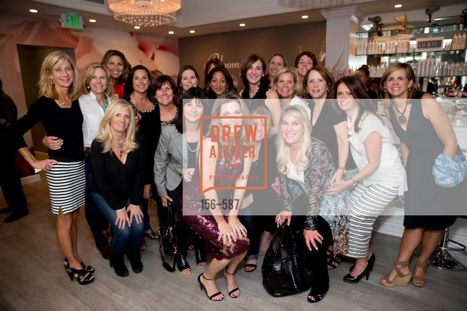Bloom Group Shot, BLOOM BLOW DRY BAR Grand Opening Party, US, October 2nd, 2014,Drew Altizer, Drew Altizer Photography, full-service agency, private events, San Francisco photographer, photographer california