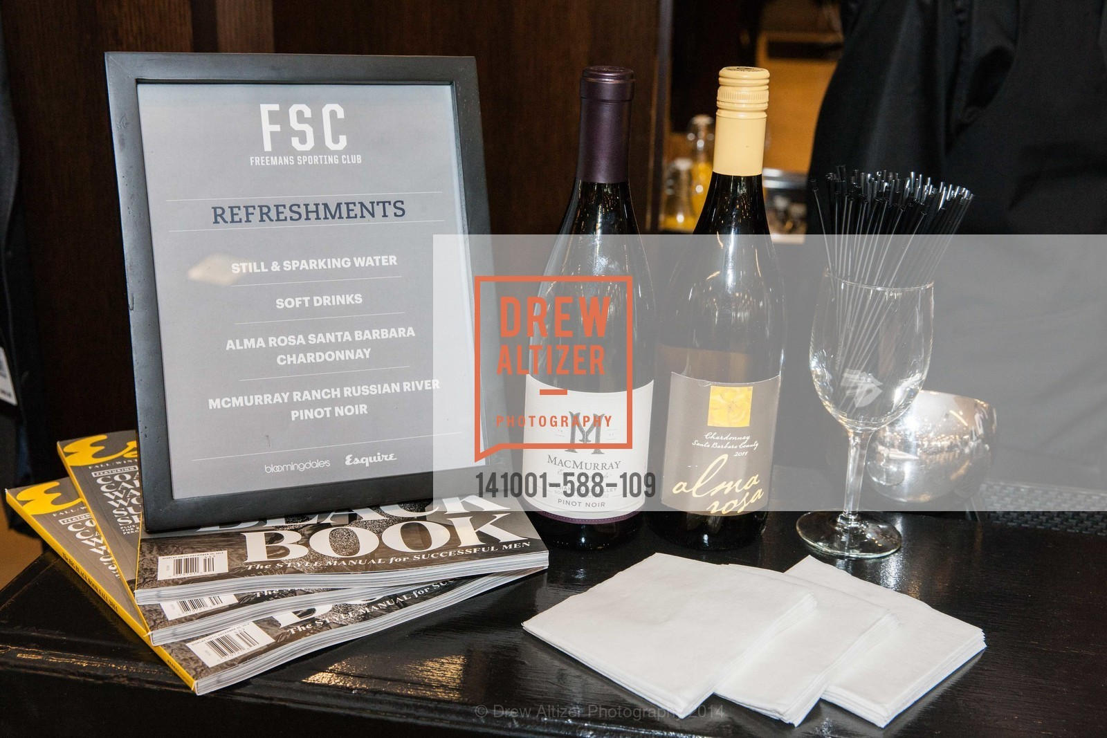 Atmosphere, ESQUIRE & BLOOMINGDALE'S SF Celebrate the Launch of FREEMANS SPORTING GOODS, US, October 2nd, 2014,Drew Altizer, Drew Altizer Photography, full-service agency, private events, San Francisco photographer, photographer california