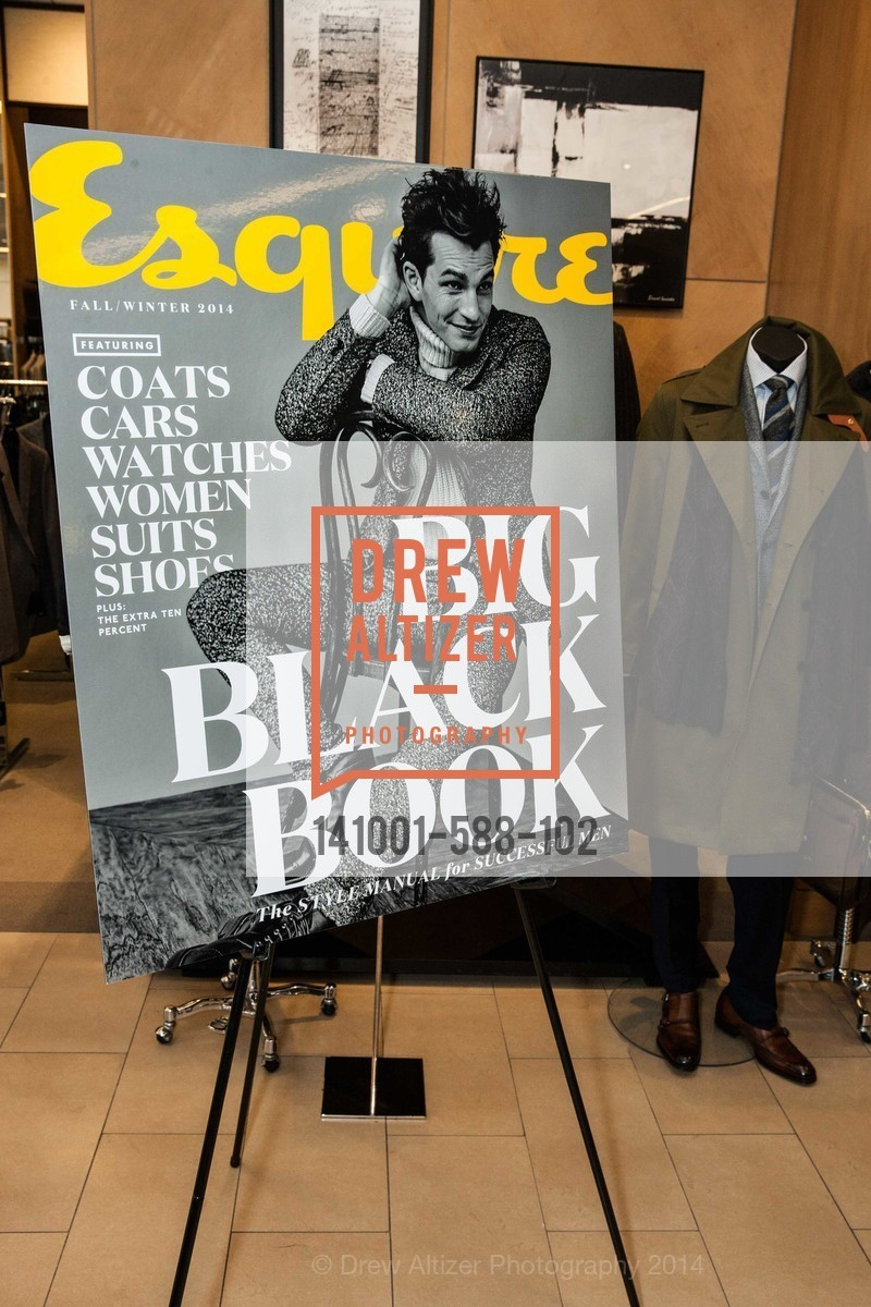 Atmosphere, ESQUIRE & BLOOMINGDALE'S SF Celebrate the Launch of FREEMANS SPORTING GOODS, US, October 2nd, 2014