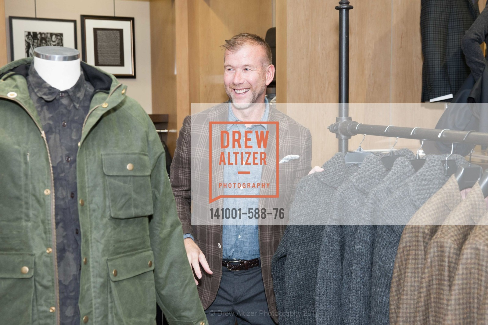 Kevin Harter, ESQUIRE & BLOOMINGDALE'S SF Celebrate the Launch of FREEMANS SPORTING GOODS, US, October 2nd, 2014,Drew Altizer, Drew Altizer Photography, full-service agency, private events, San Francisco photographer, photographer california