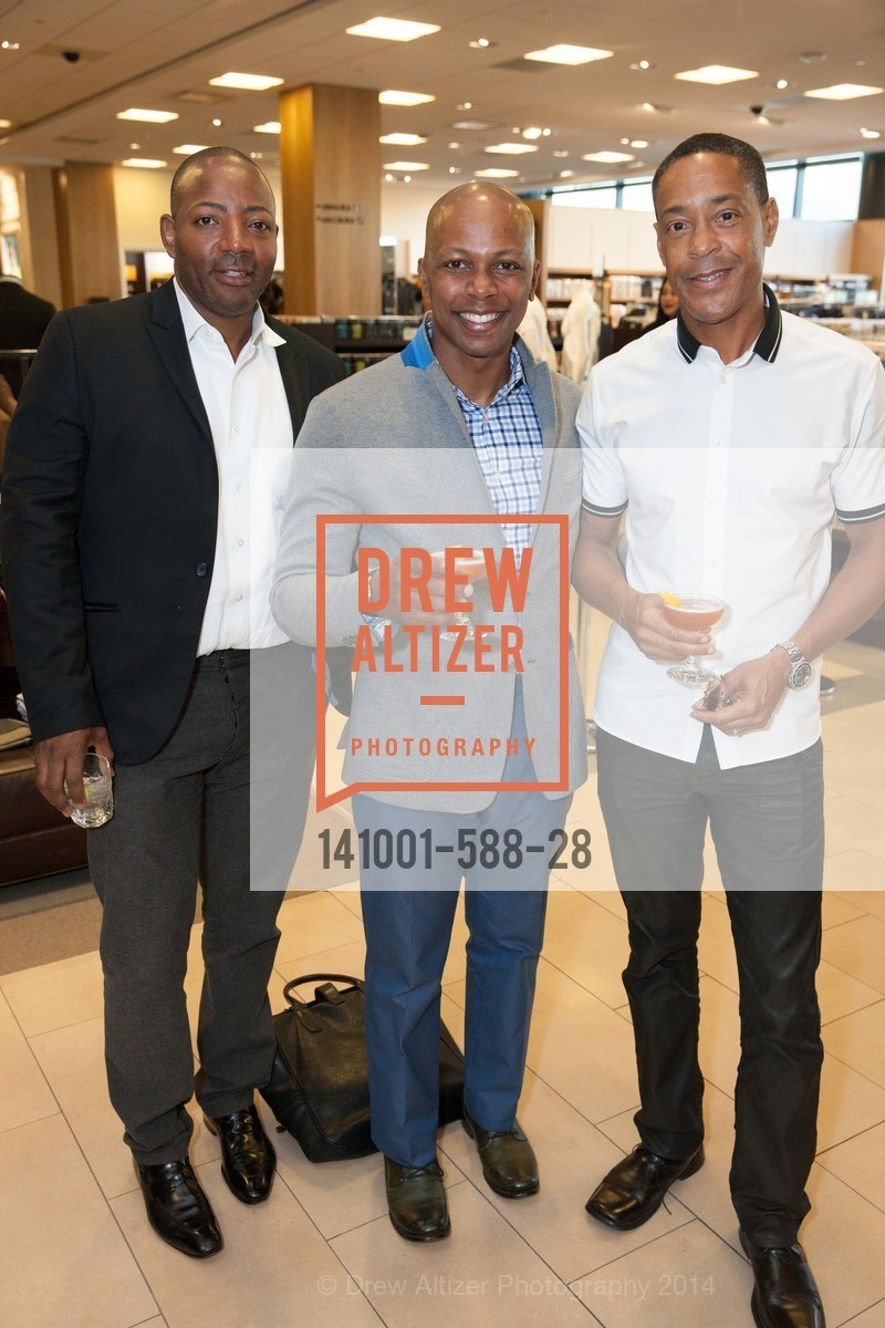 Joaquin McCoy, Shaun Saunders, John Barnhill, ESQUIRE & BLOOMINGDALE'S SF Celebrate the Launch of FREEMANS SPORTING GOODS, US, October 2nd, 2014,Drew Altizer, Drew Altizer Photography, full-service event agency, private events, San Francisco photographer, photographer California