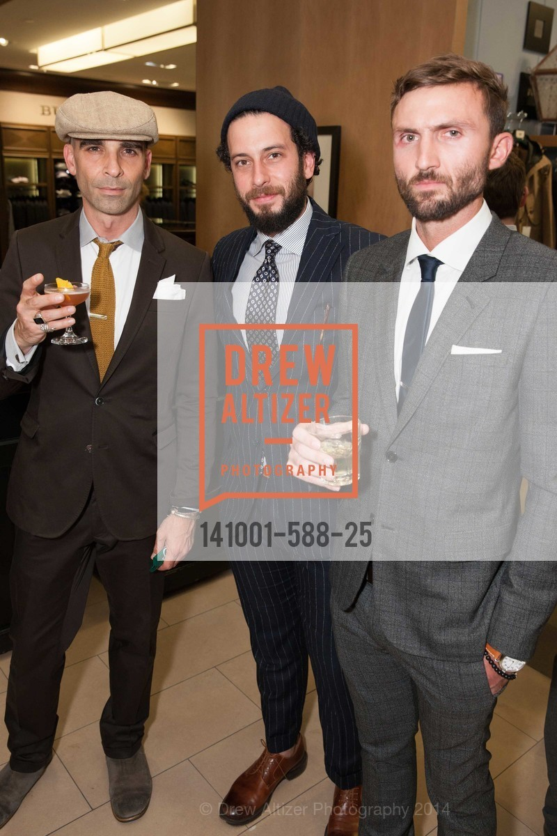 Mike Amici, Josh Peskowitz, ESQUIRE & BLOOMINGDALE'S SF Celebrate the Launch of FREEMANS SPORTING GOODS, US, October 2nd, 2014,Drew Altizer, Drew Altizer Photography, full-service agency, private events, San Francisco photographer, photographer california
