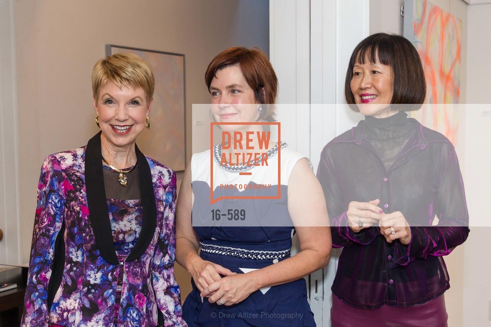 Martha Woollomes, Rebecca Chou, Mary Lipian,