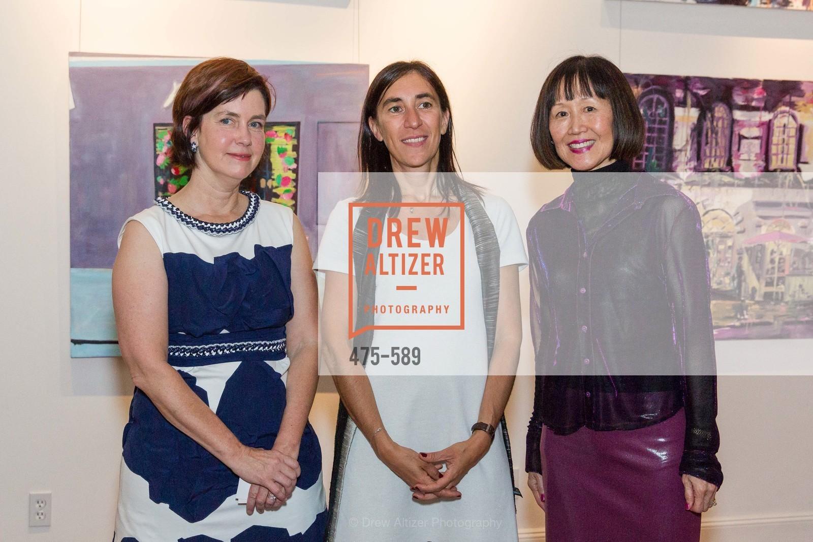 Mary Lipian, Pauline Carmona, Rebecca Chou,
