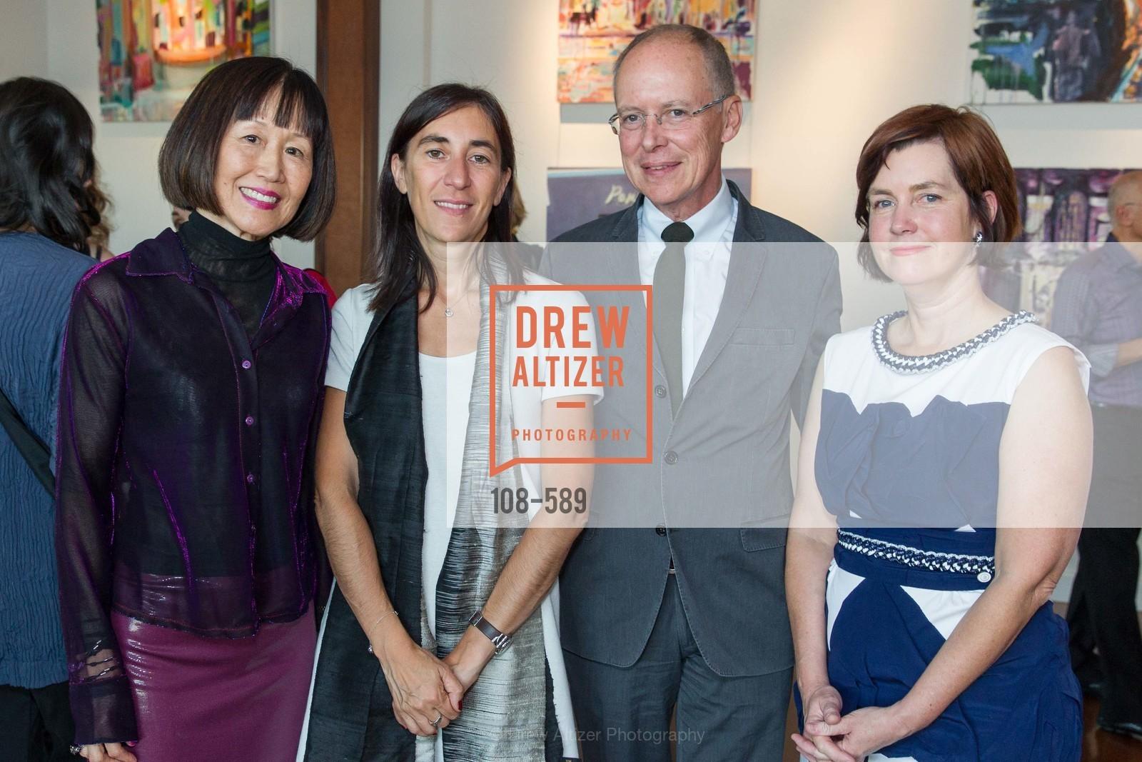 Rebecca Chou, Pauline Carmona, Charles Desmarais, Mary Lipian,