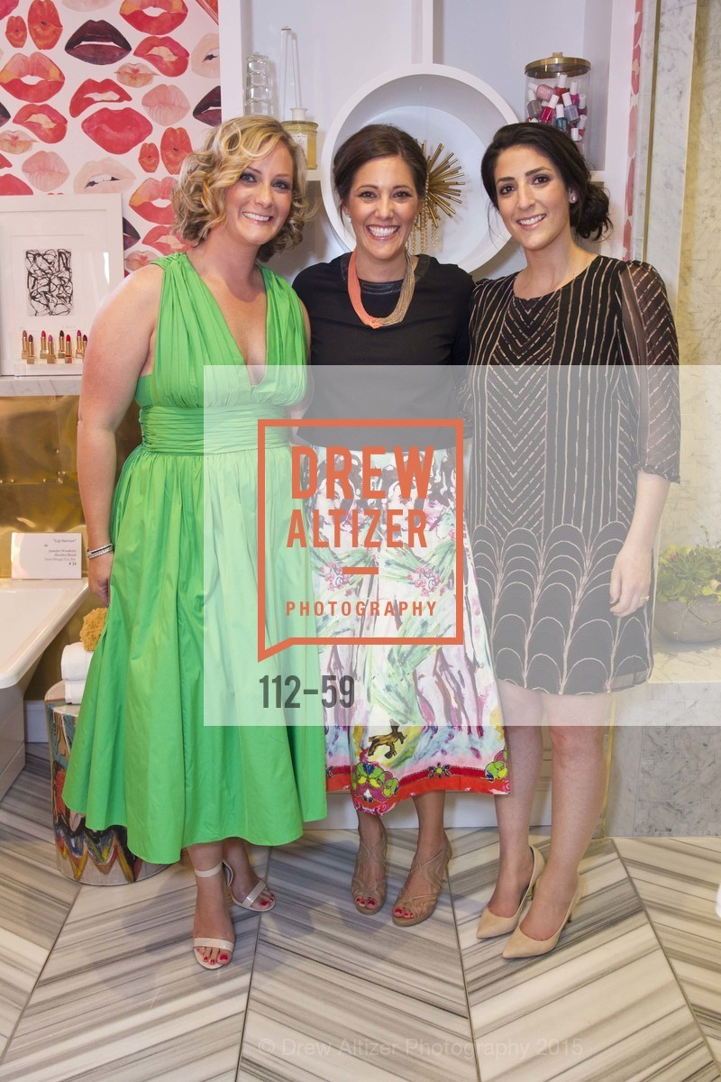 Jennifer Wundrow, Heather Brock, Reid Bloom, San Francisco Decorator Showcase Sponsors Preview Gala, 3630 Jackson Street, April 23rd, 2015,Drew Altizer, Drew Altizer Photography, full-service agency, private events, San Francisco photographer, photographer california